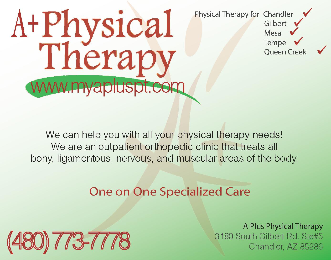 A Plus Physical Therapy