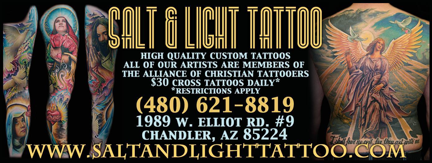 Salt & Light Tattoo