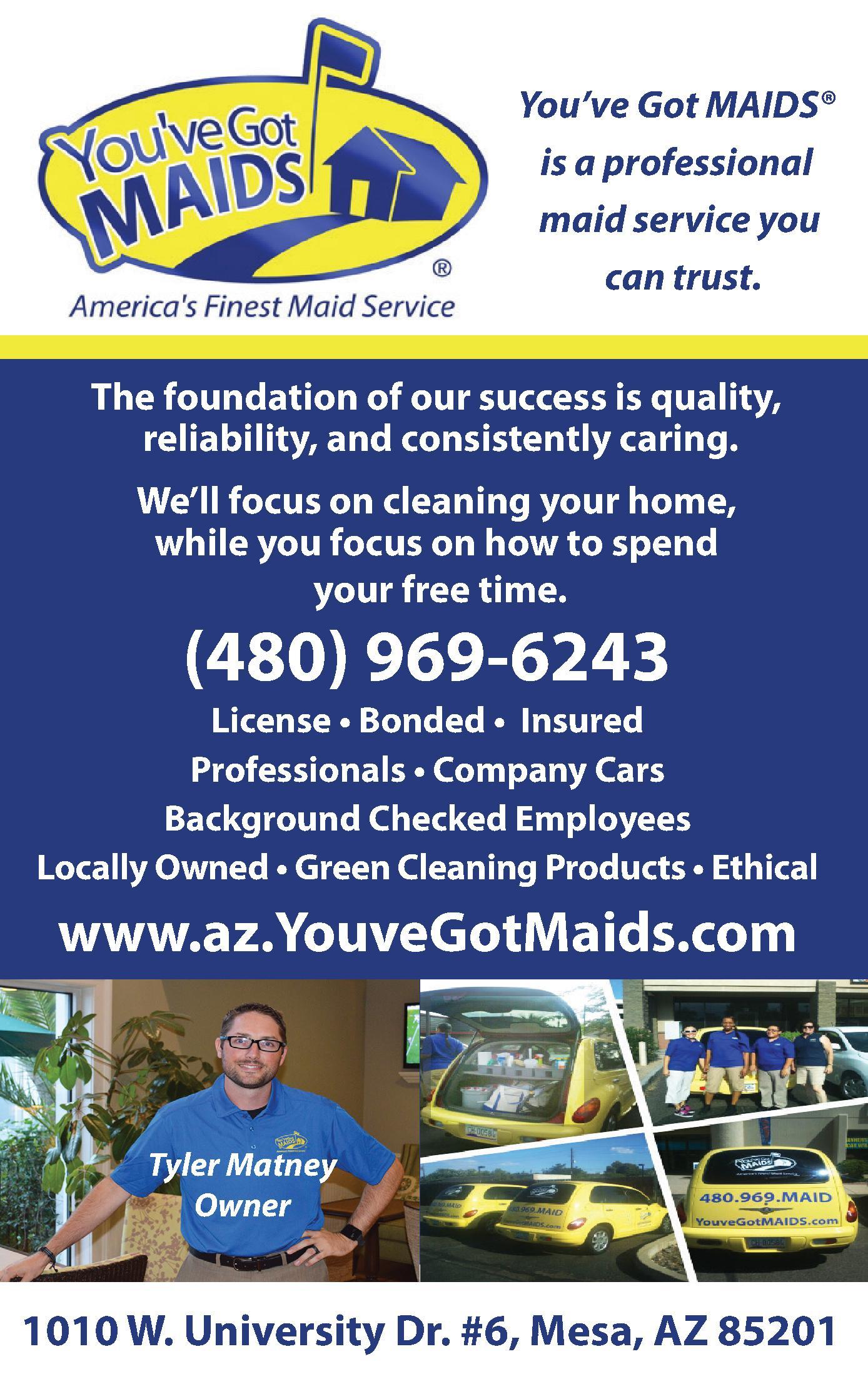 You've Got Maids!