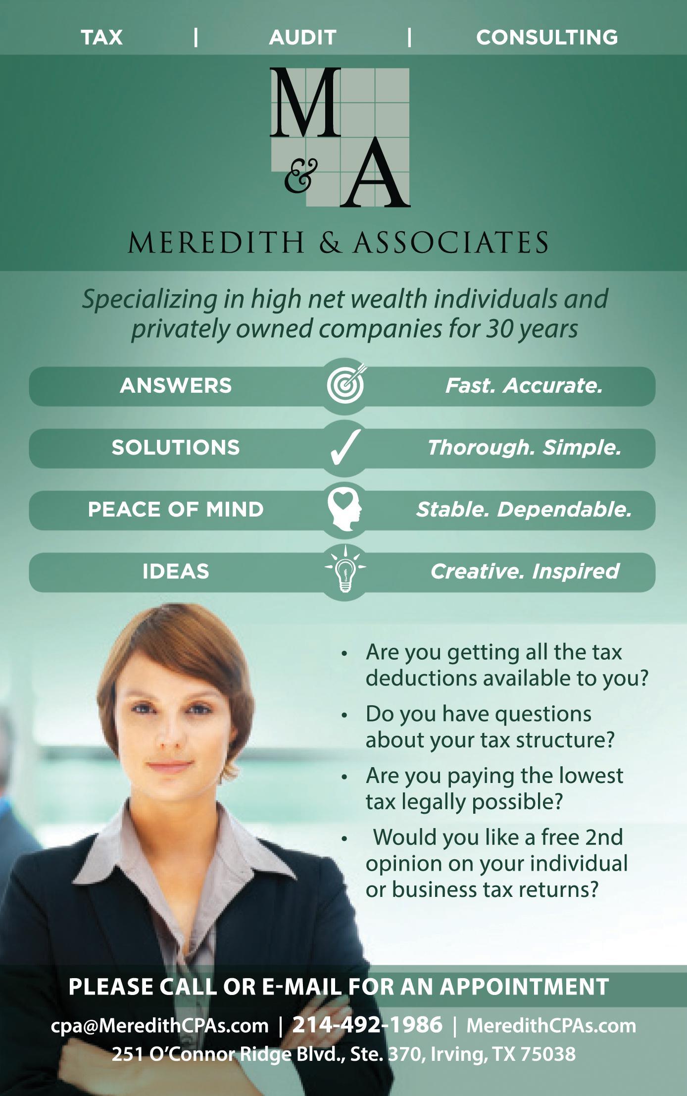 Meredith & Associates, CPAs