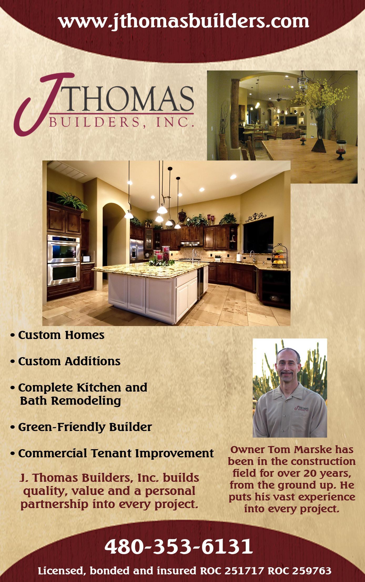 J. Thomas Builders, Inc.