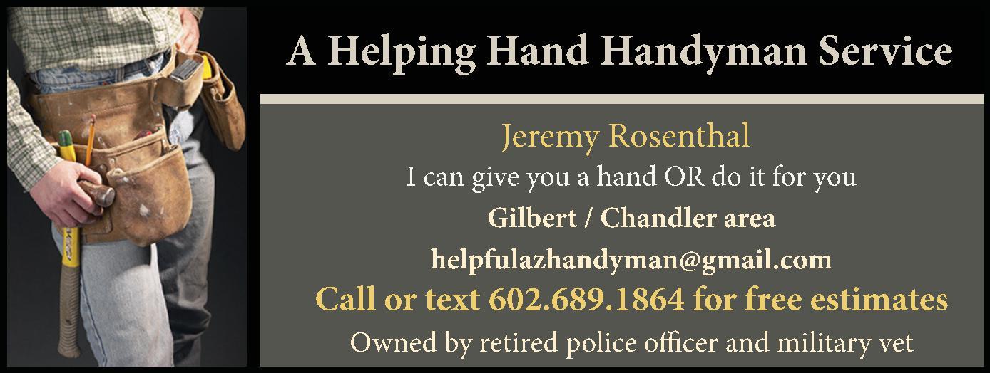 A Helping Hand,  Handyman Service