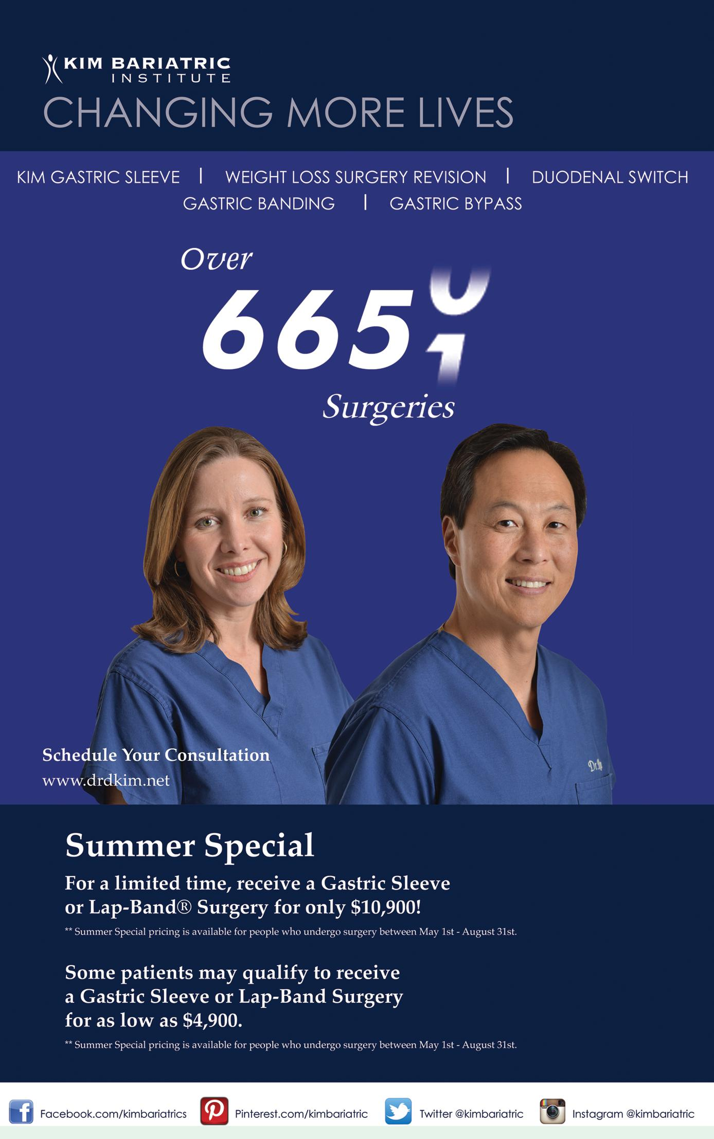 Live Life Again Center for Bariatric Surgery