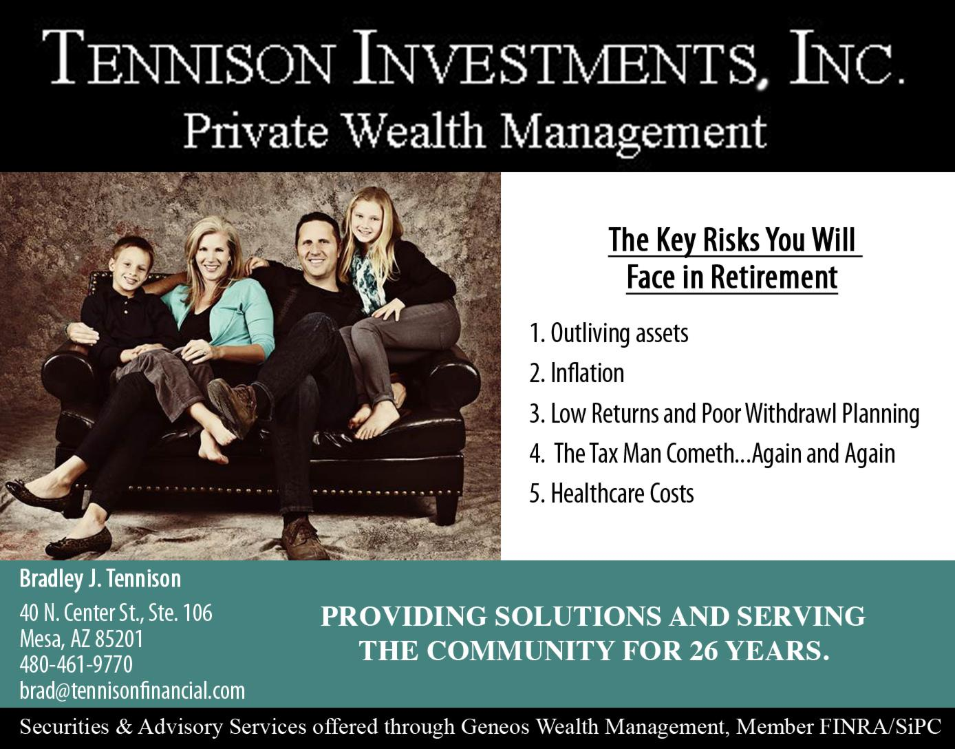 Tennison Investments, Inc.