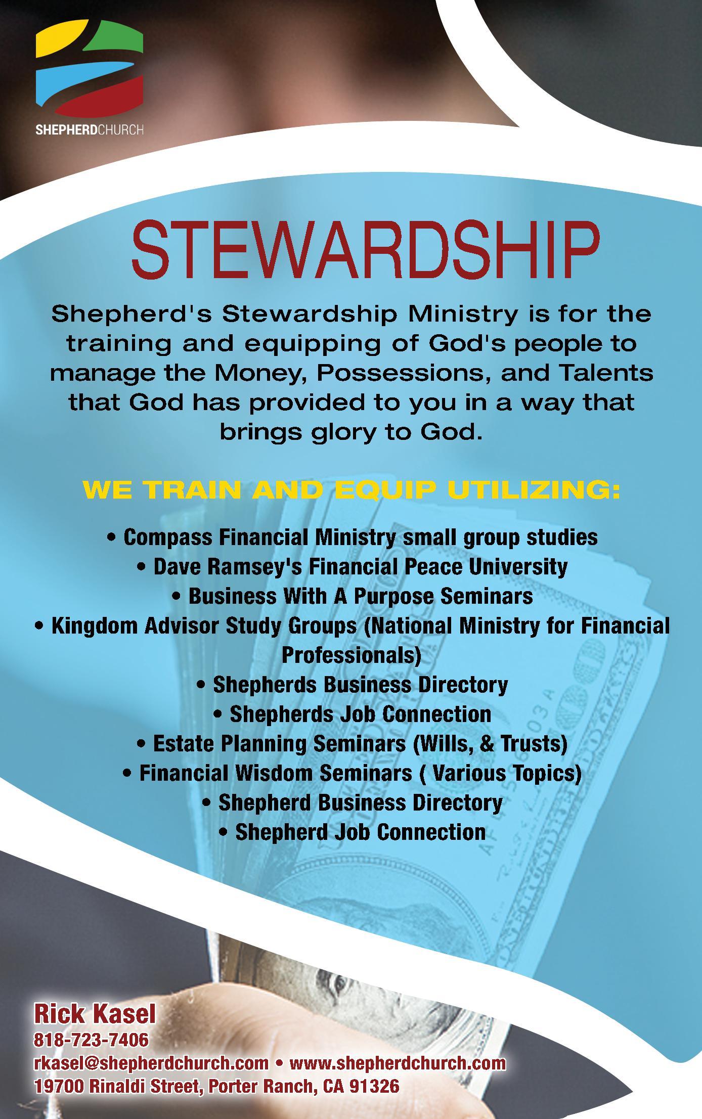 Stewardship Ministry