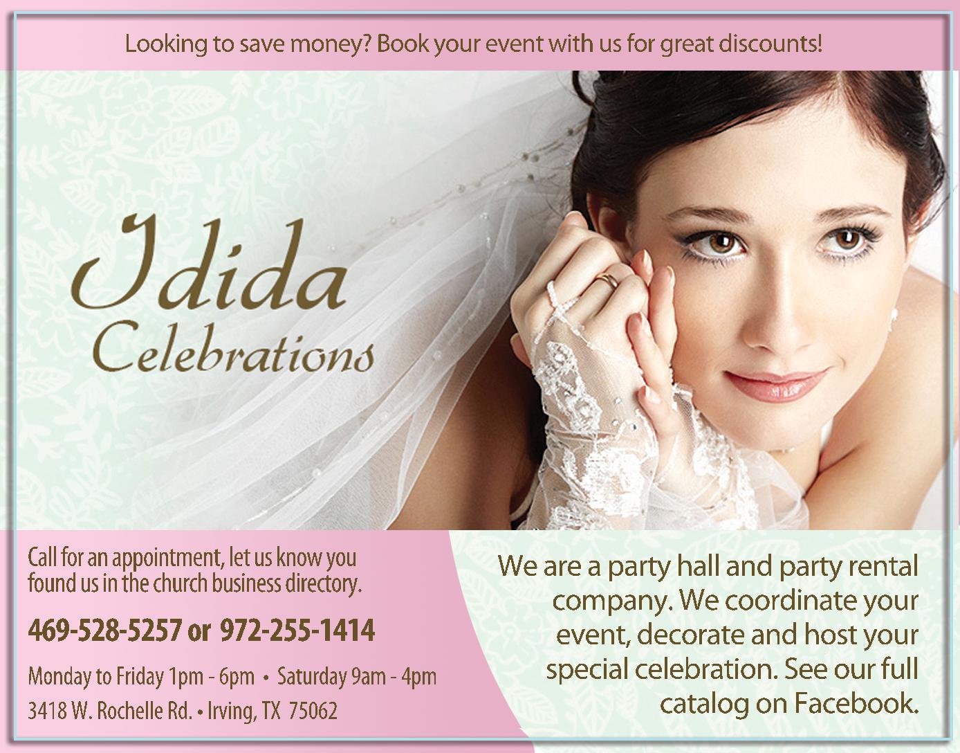 Idida Celebrations