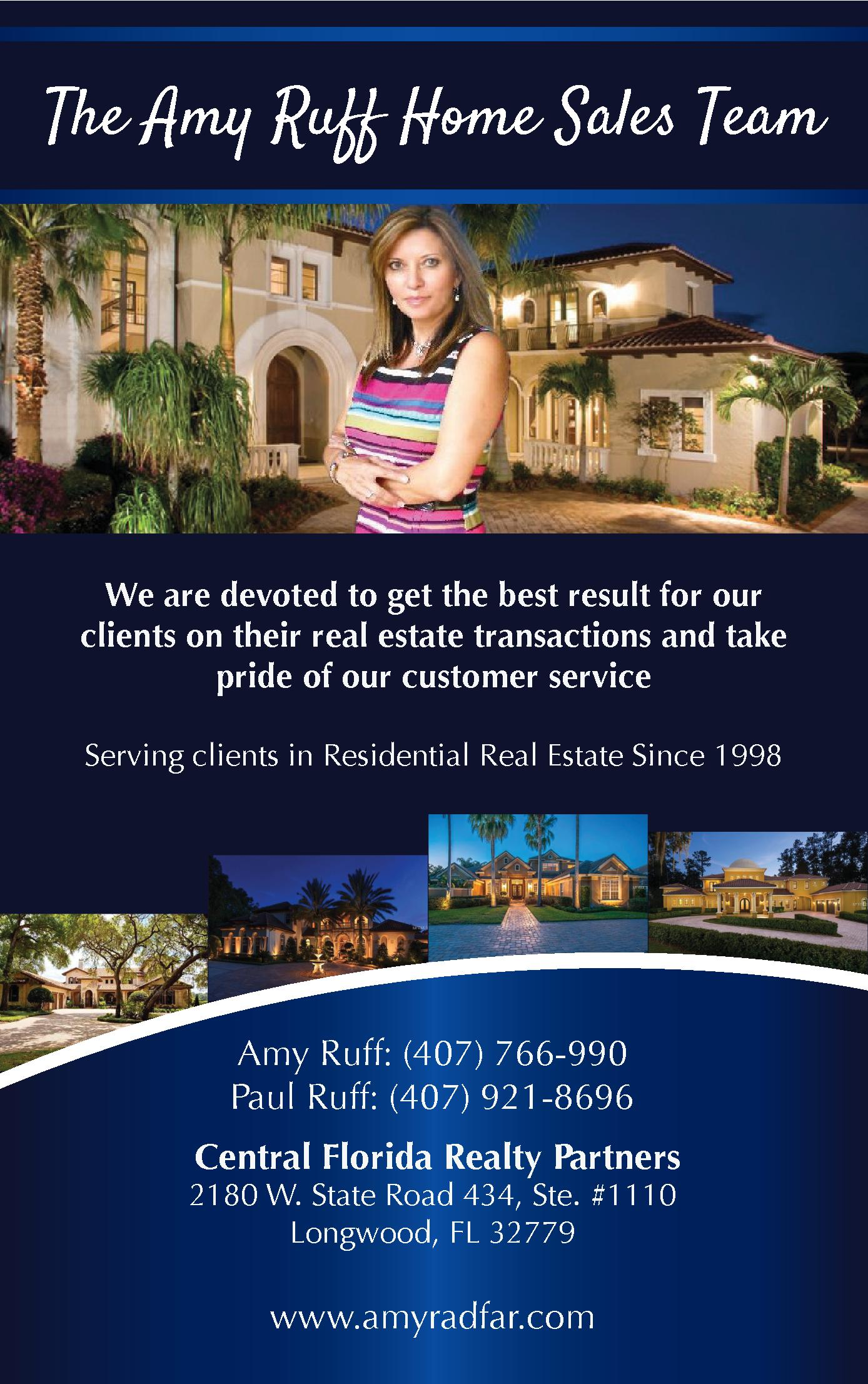 The Amy Ruff Team - Central Florida Reatly Partner
