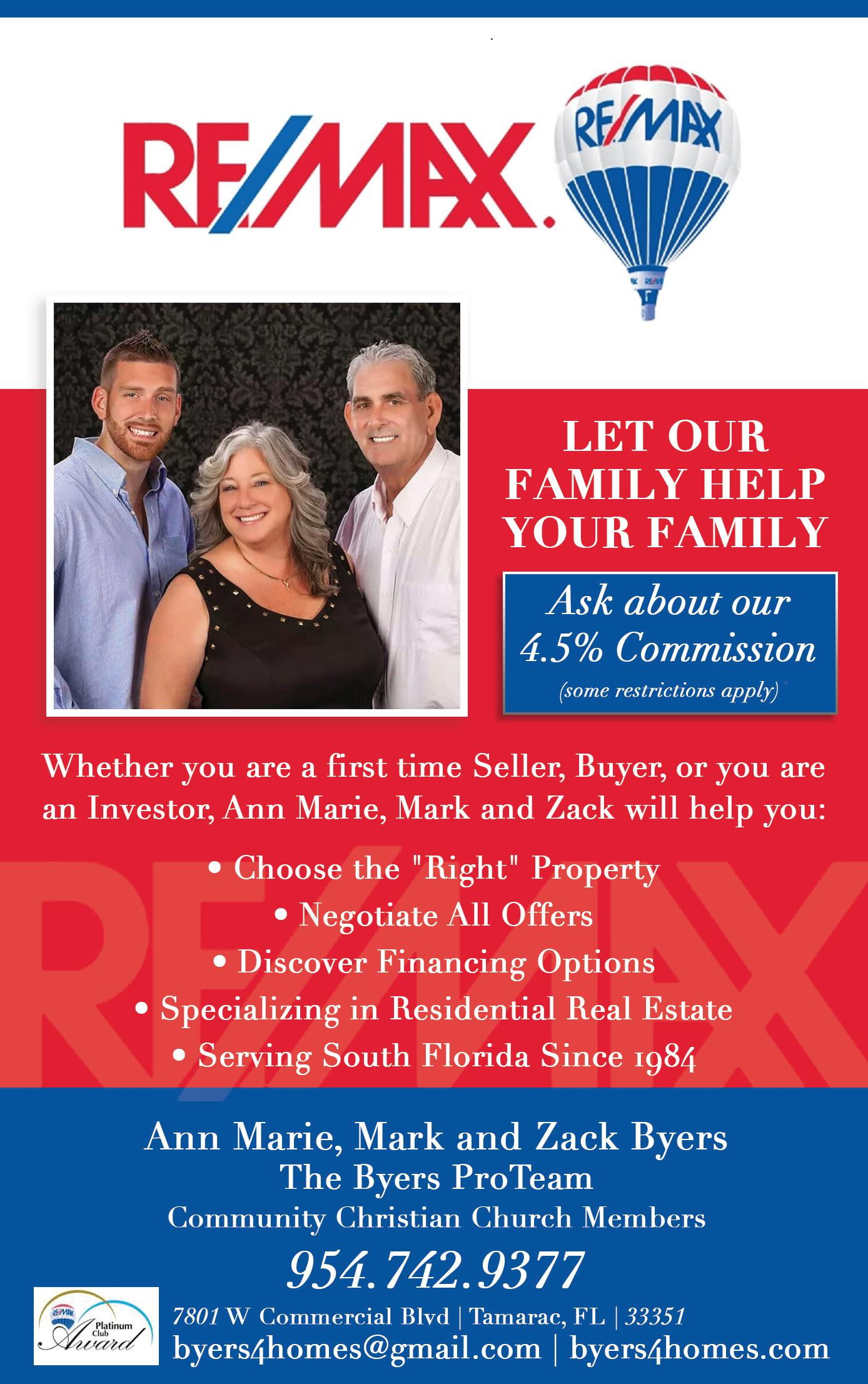 The Byers ProTeam at RE/MAX InterAction Realty