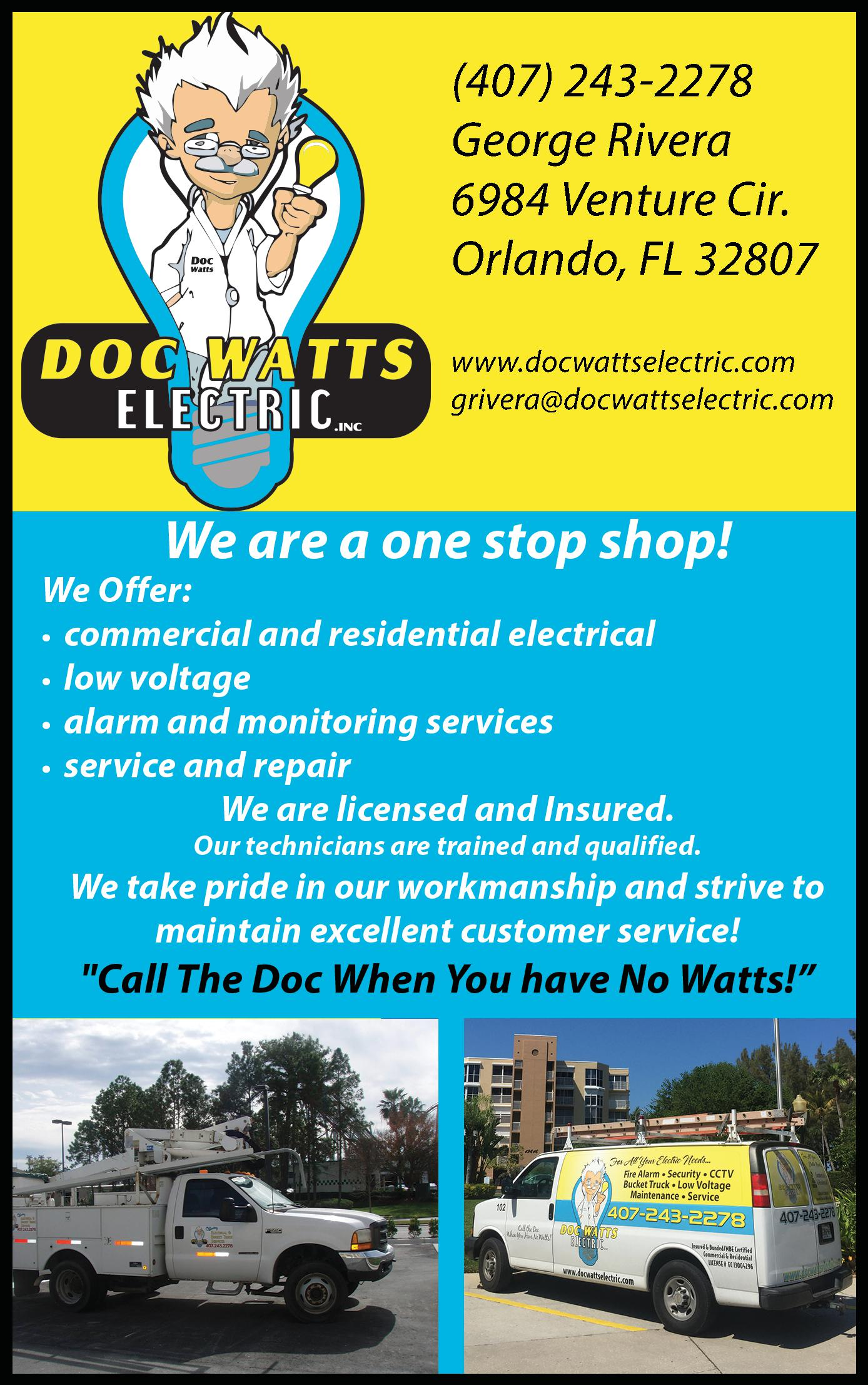 Doc Watts Electric, Inc.