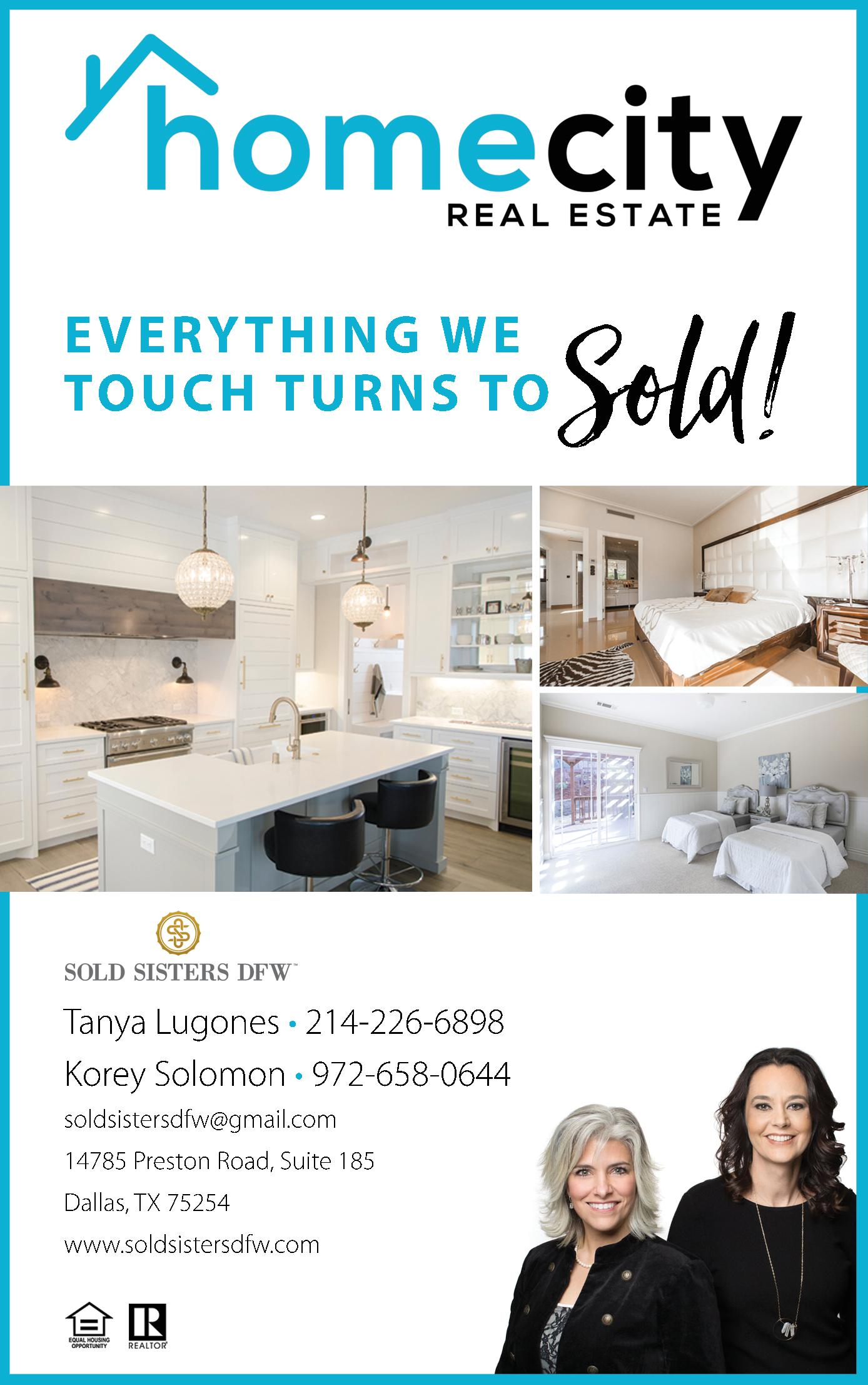 Sold Sisters DFW @ HomeCity Realestate