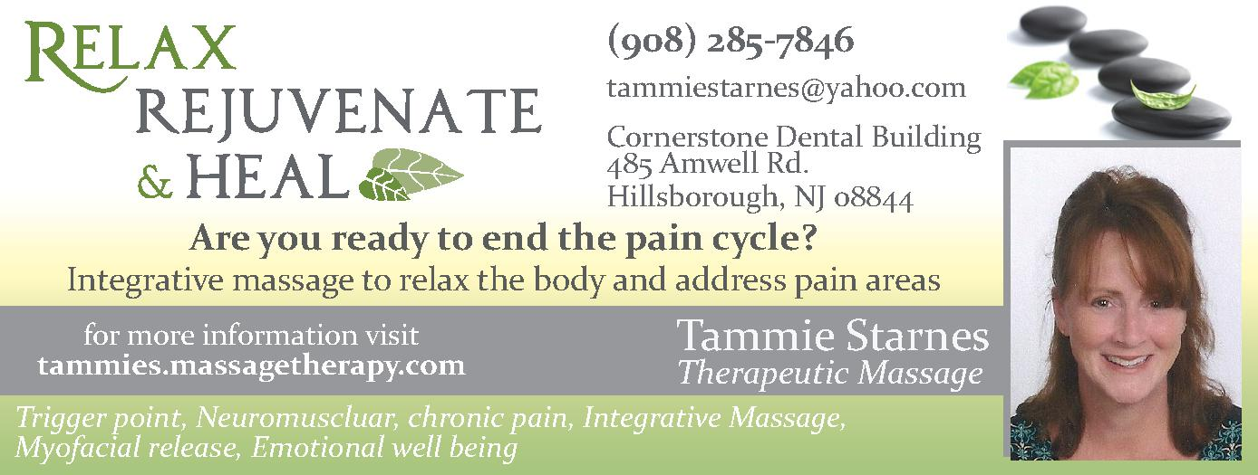 Relax Rejuvenate and heal