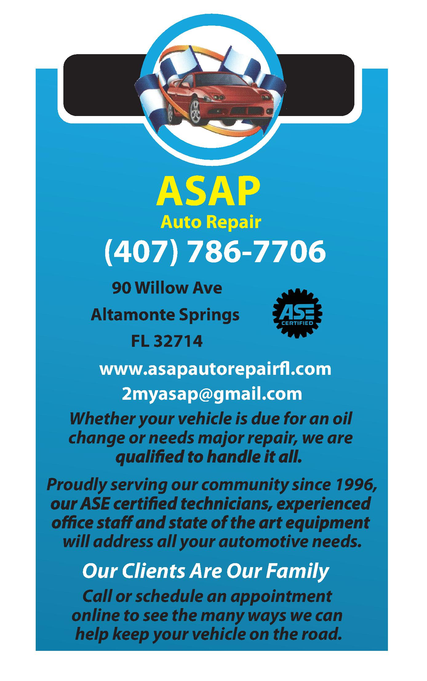 ASAP Auto Repair