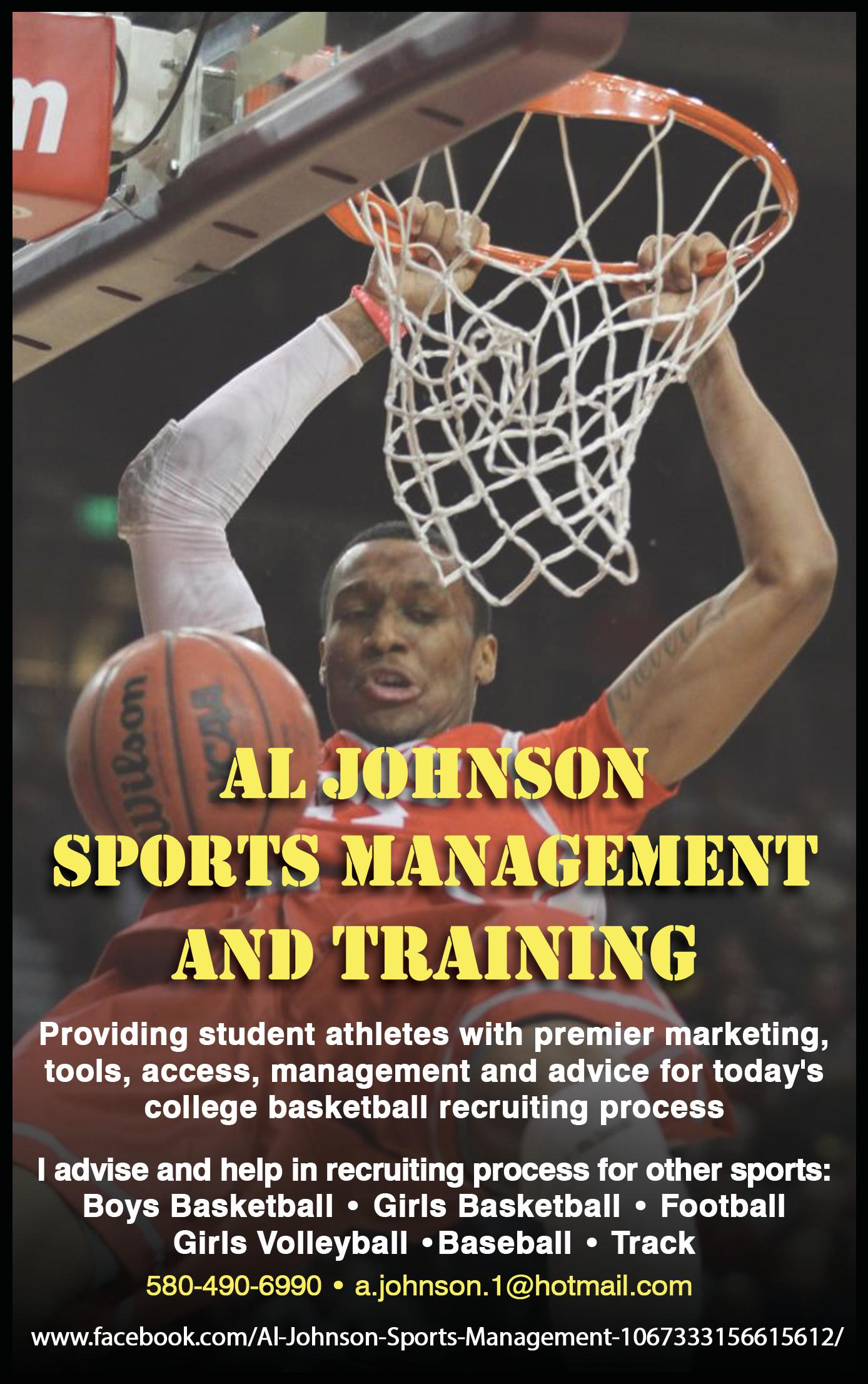 Al Johnson Sports Management and Training