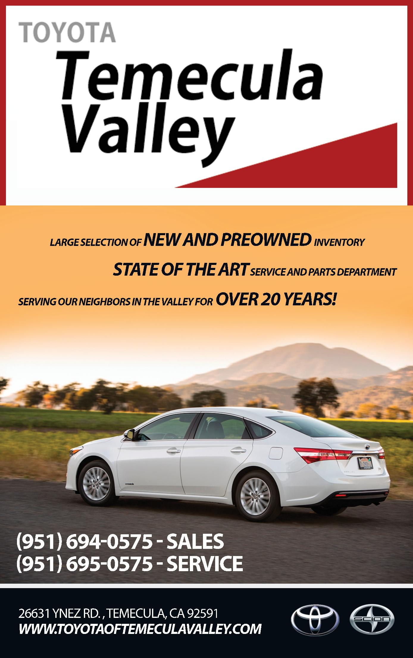 Toyota of Temecula Valley