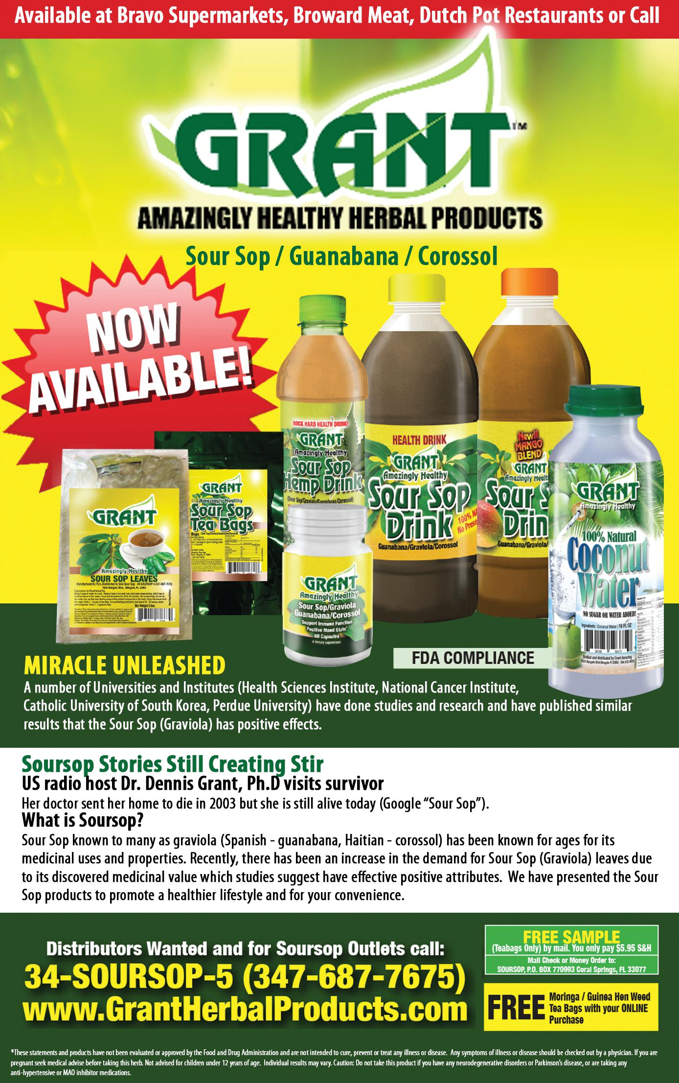 Grant Herbal Products