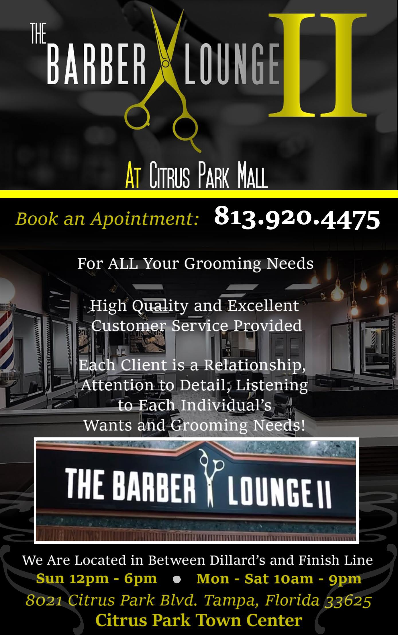 The Barber Lounge II