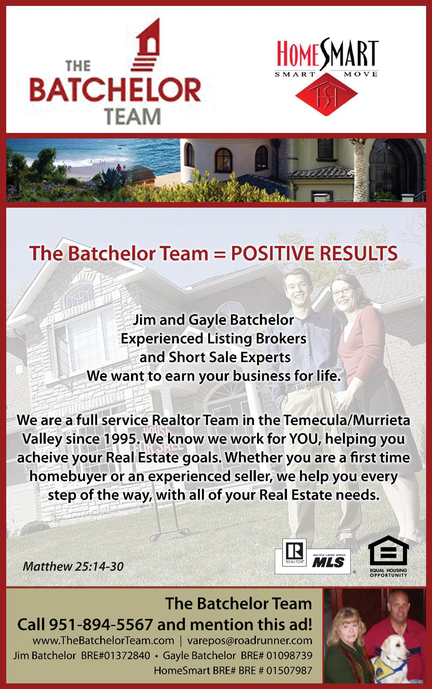 Home Smart - The Batchelor Team