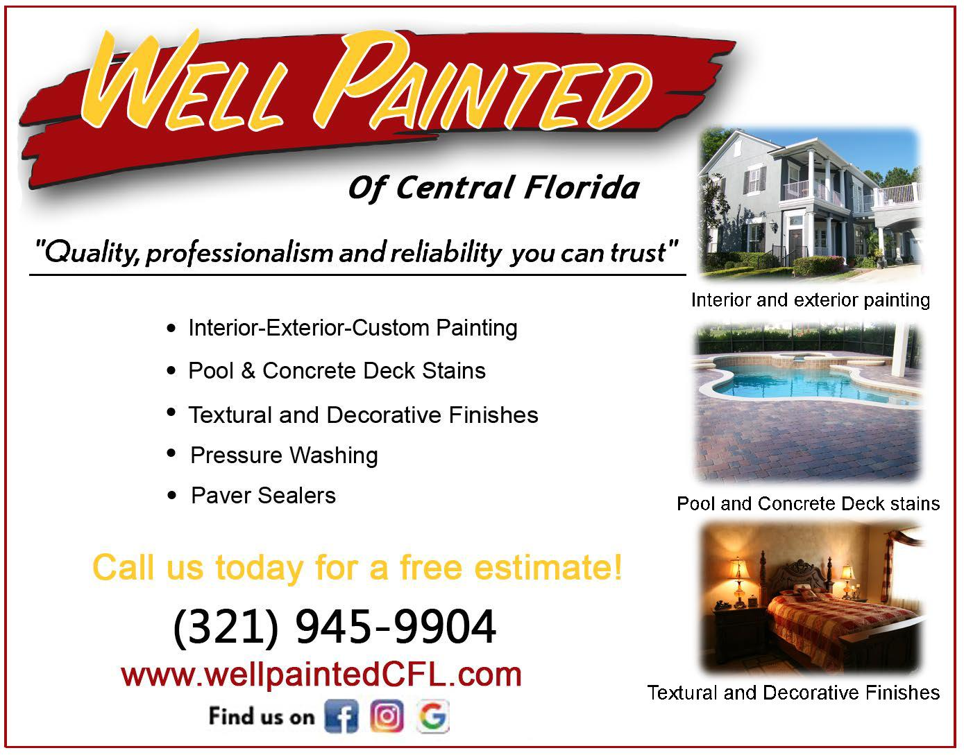 Well Painted of Central Florida