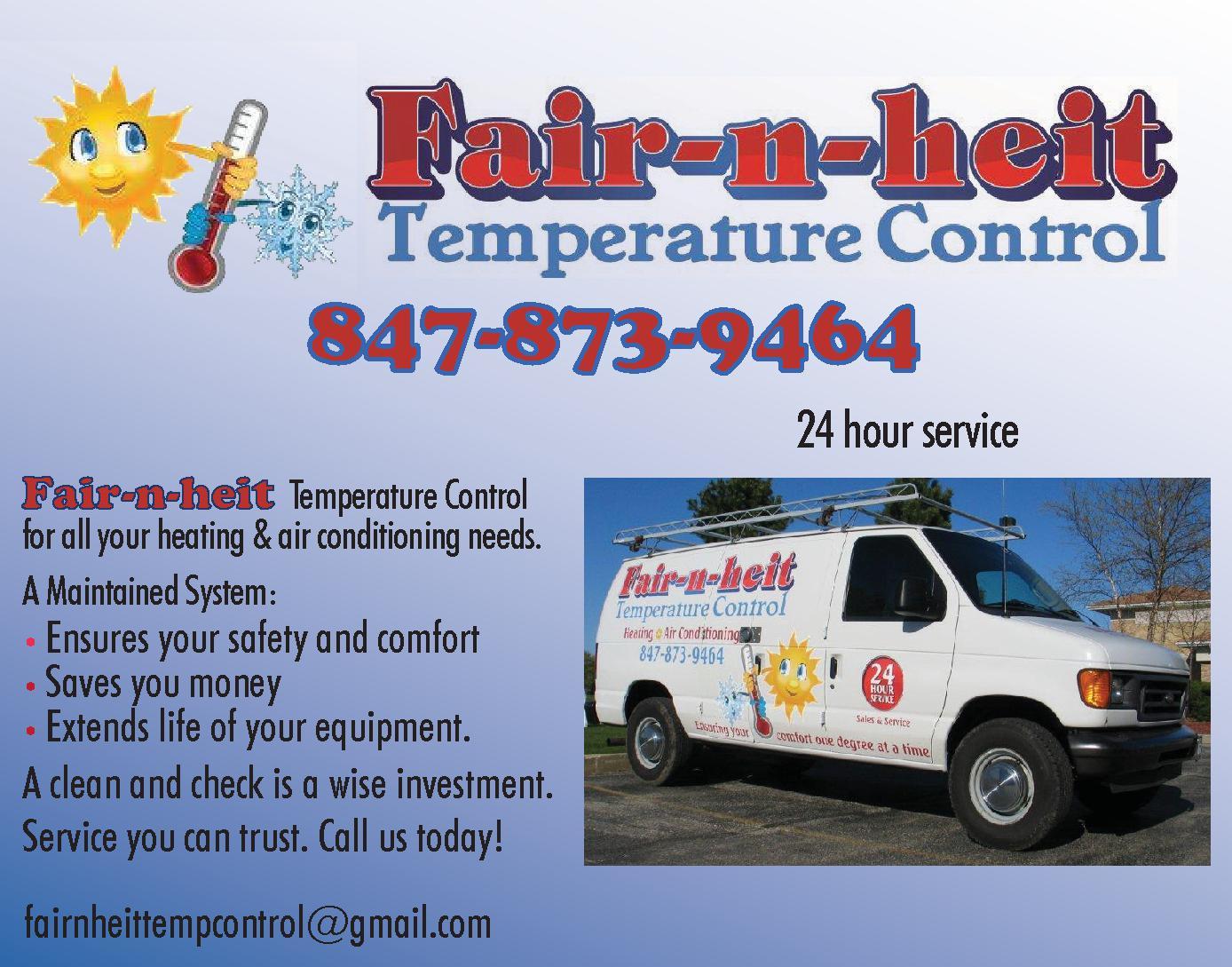 Fair-n-heit Temperature Control