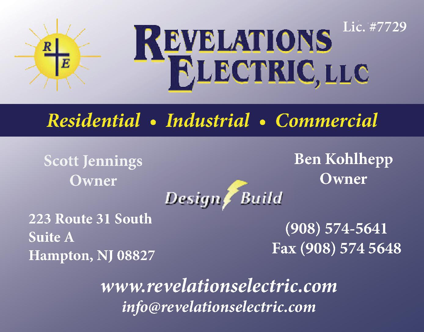 Revelations Electric, LLC