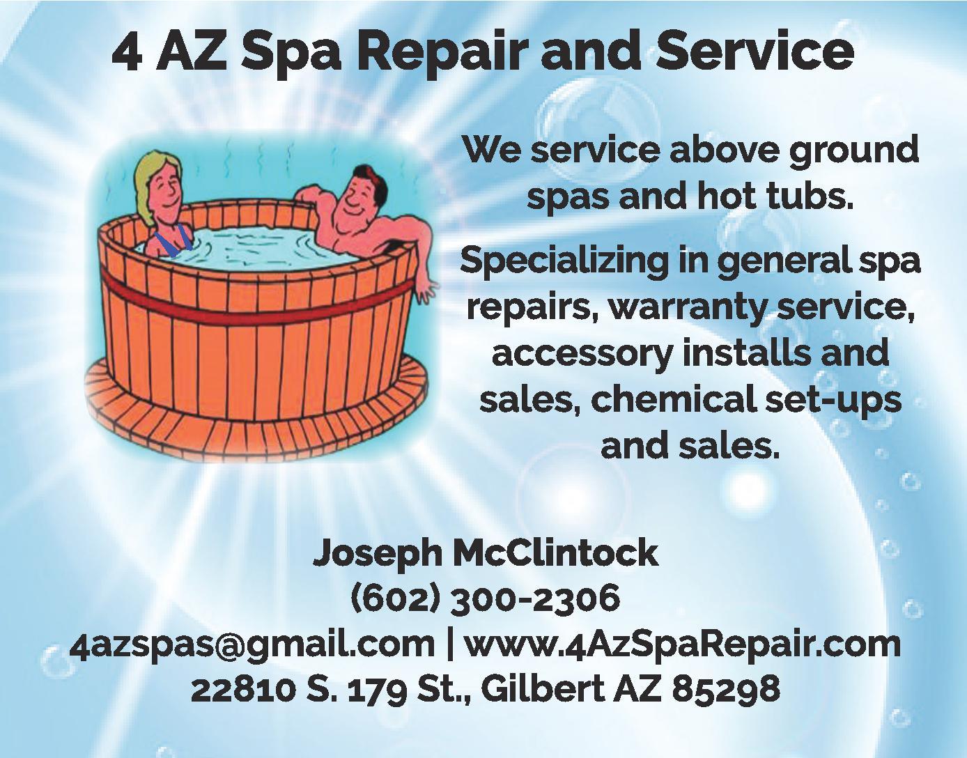 4 AZ Spa Repair and Service