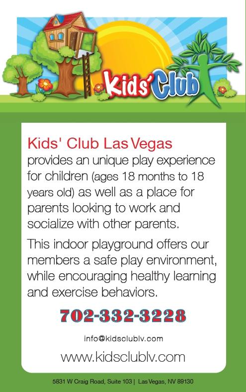 Kids' Club Las Vegas