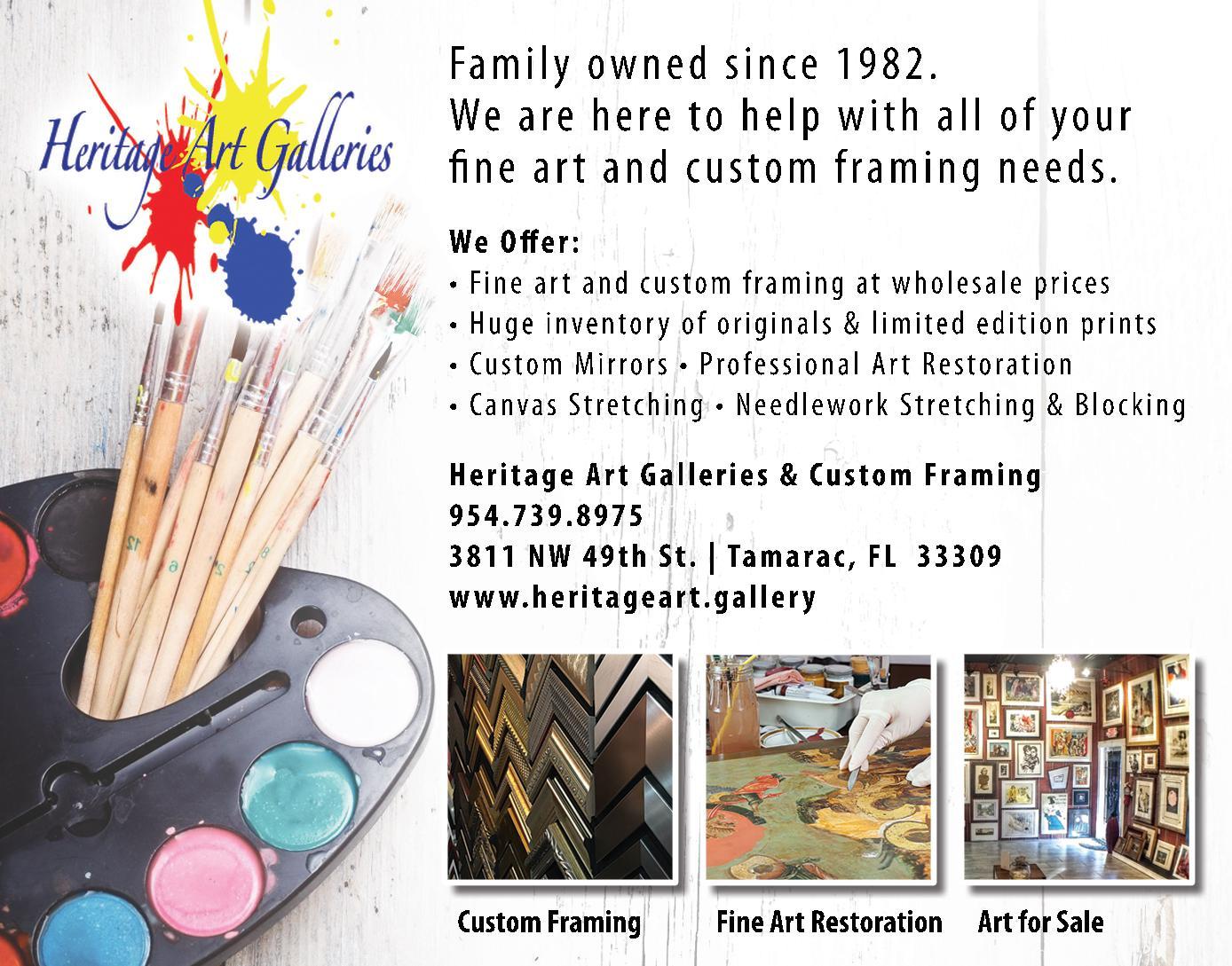 Heritage Art Galleries Inc.