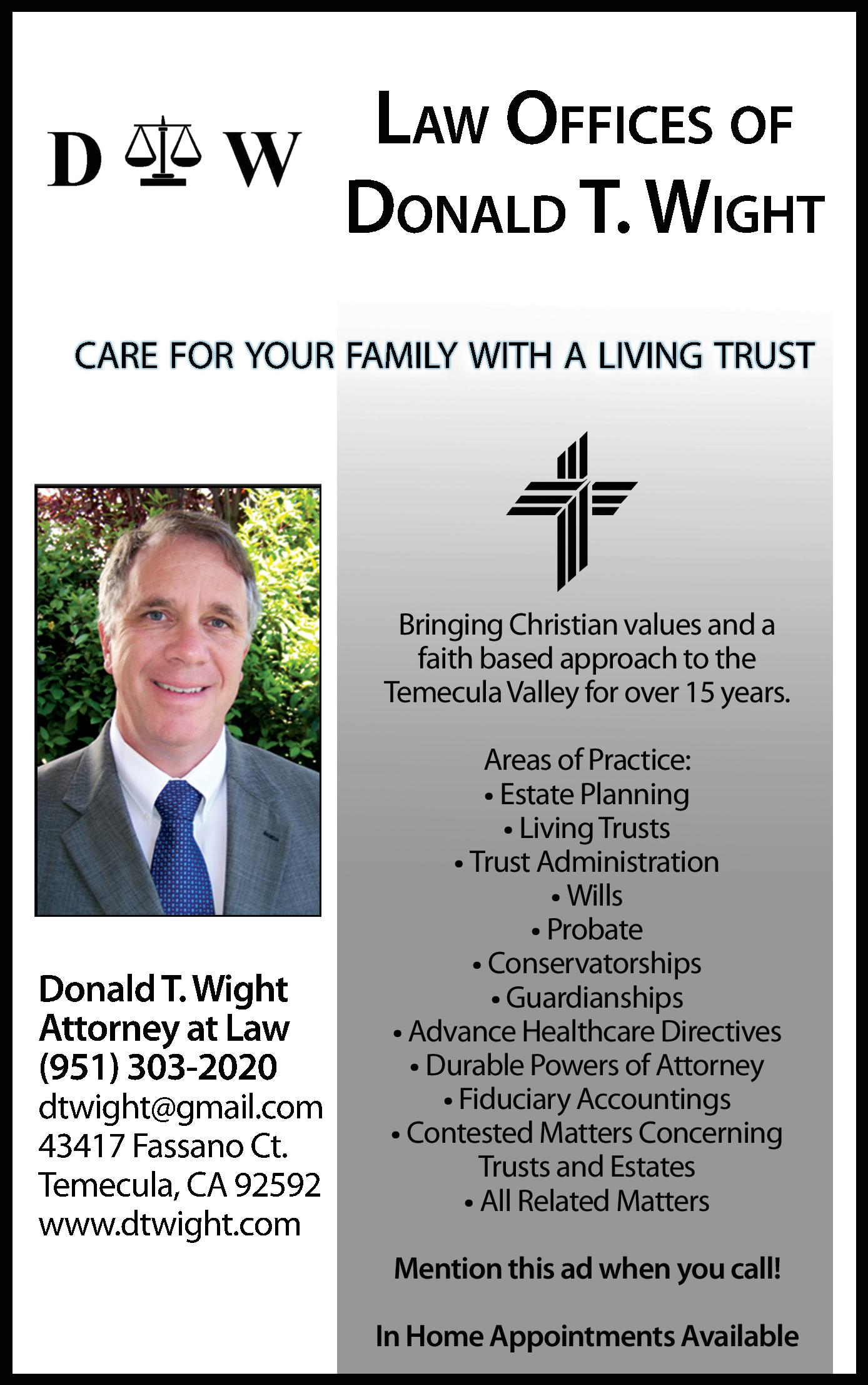 Law Offices of Donald T. Wight