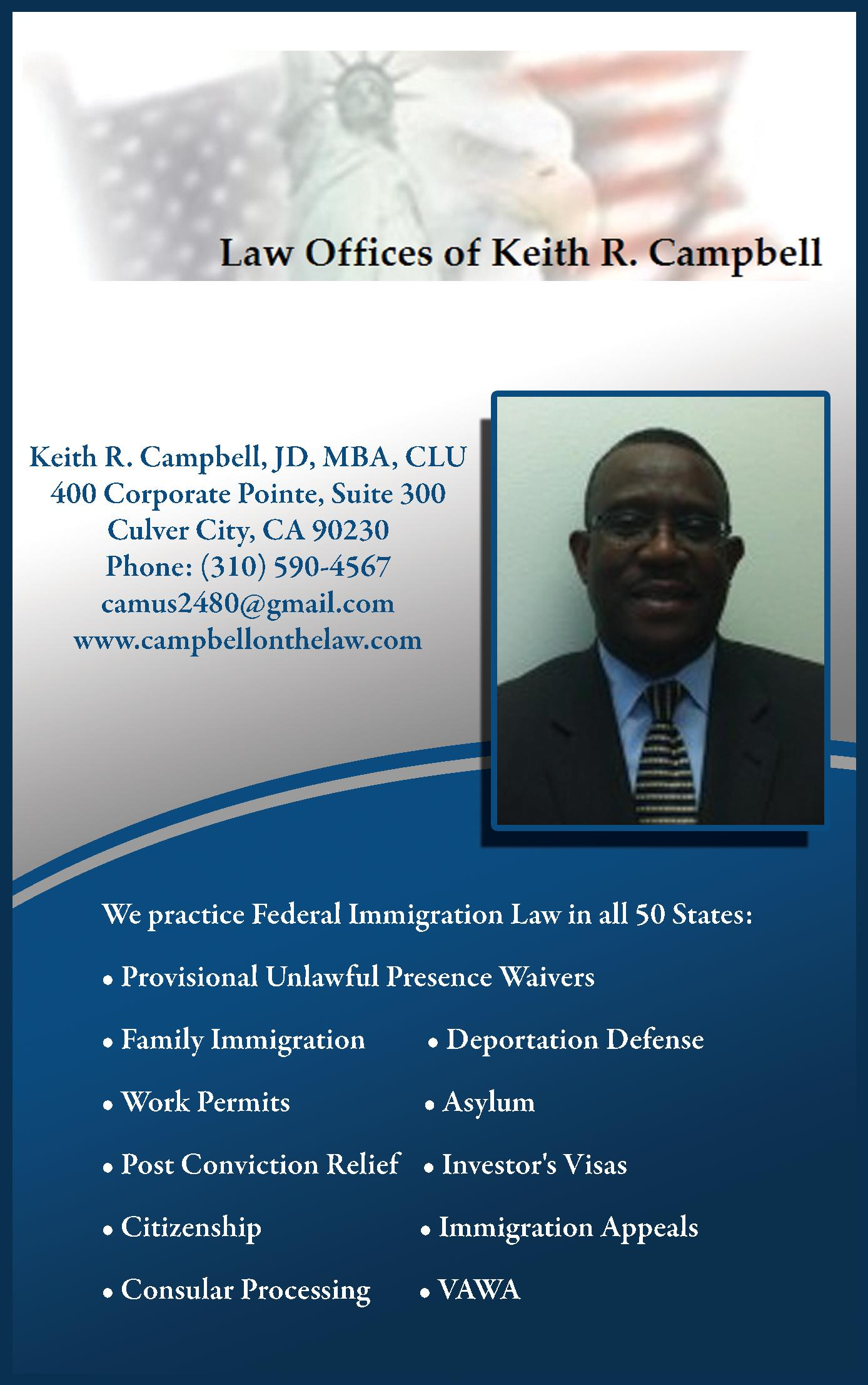 Law Offices of Keith R. Campbell