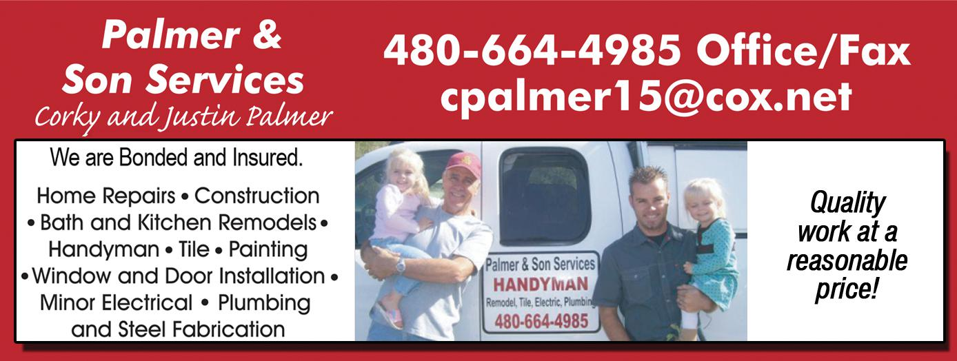 Palmer and Son Handyman Services L.L.C.