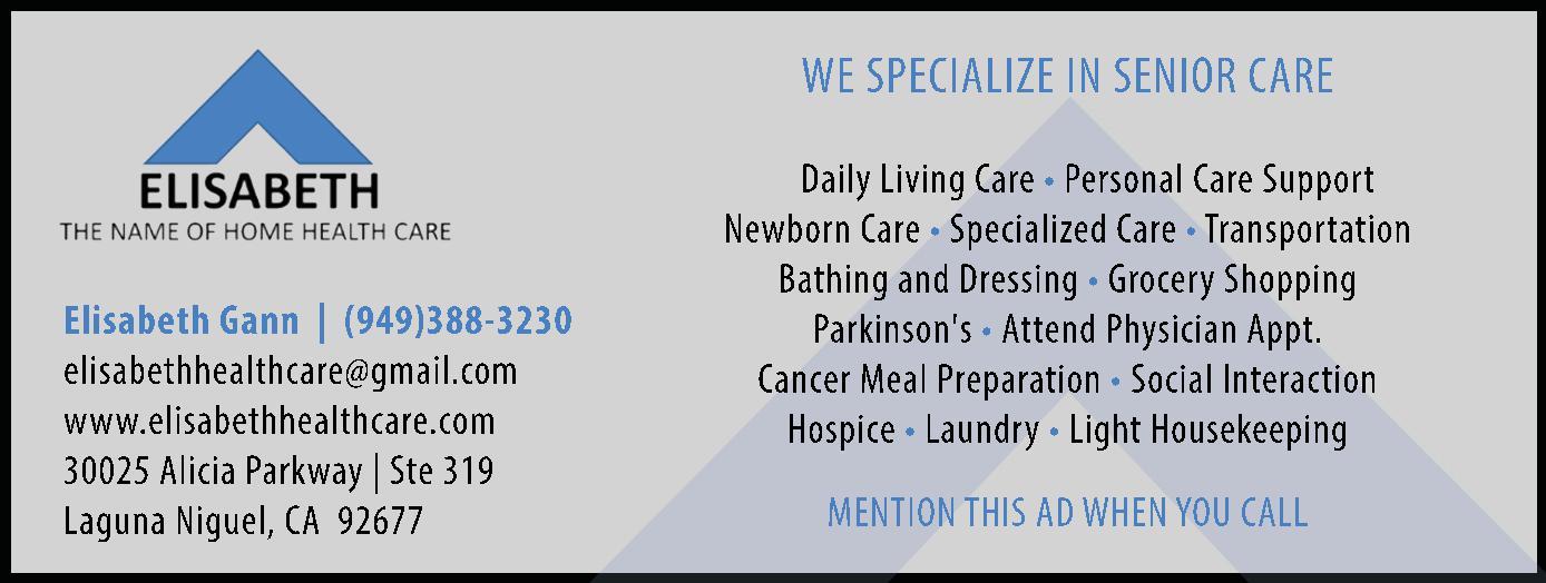 Elisabeth Health Care Services