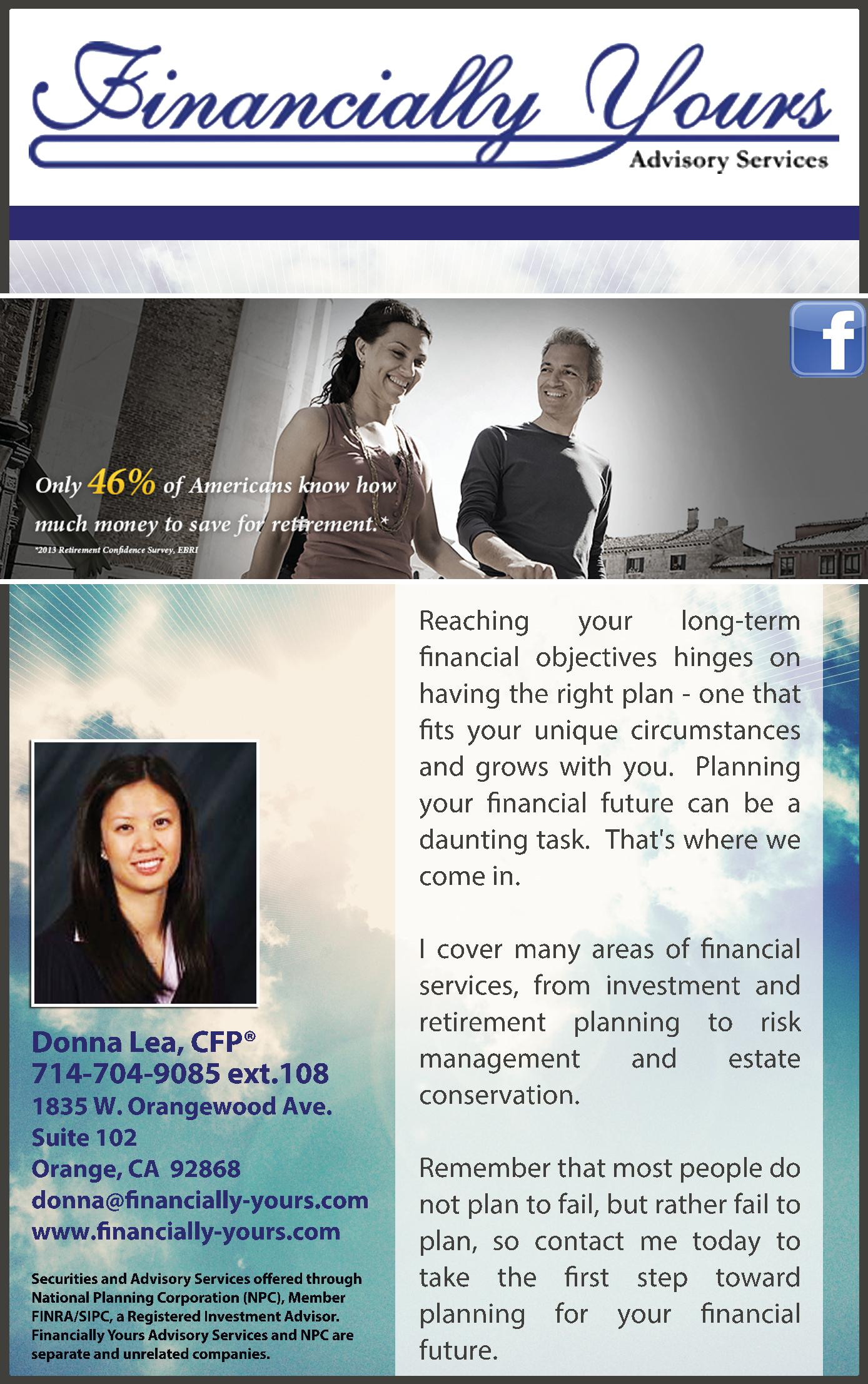 Financially Yours Advisory Services
