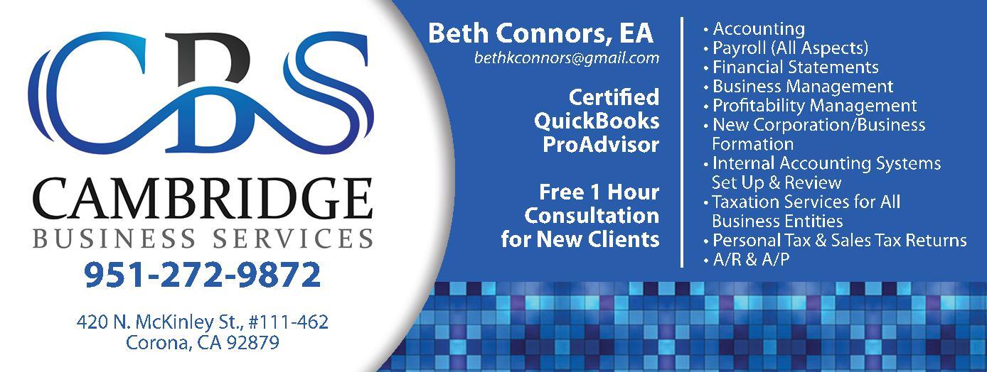 Cambridge Business Services, Inc.