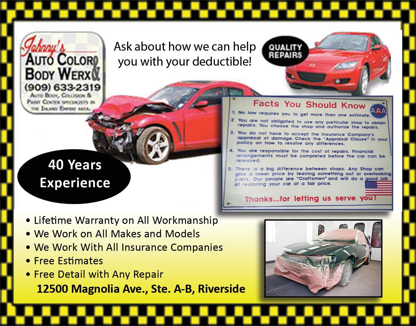 Johnny's Auto Color & Body Werx