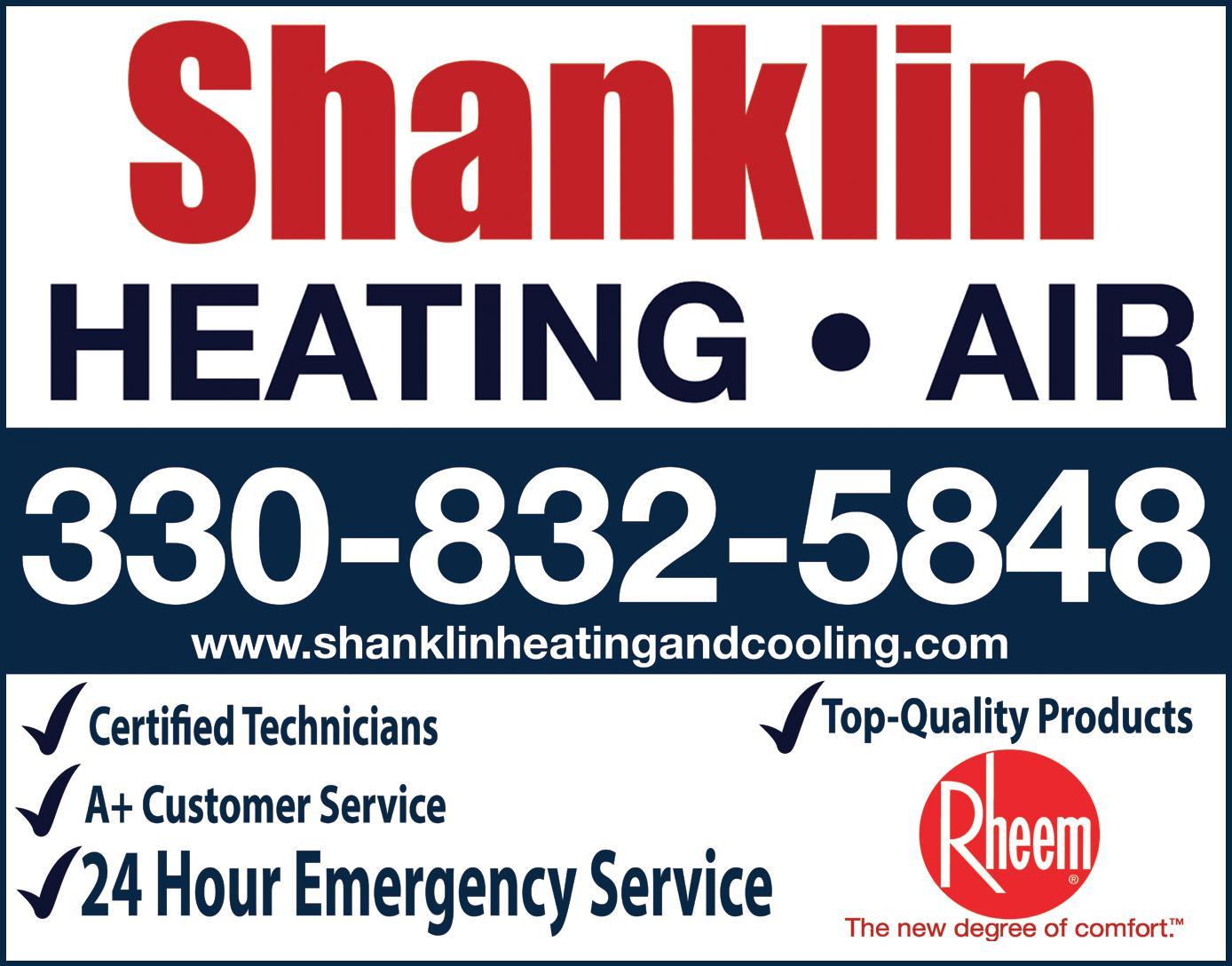 Shanklin Heating, Air Conditioning, LLC