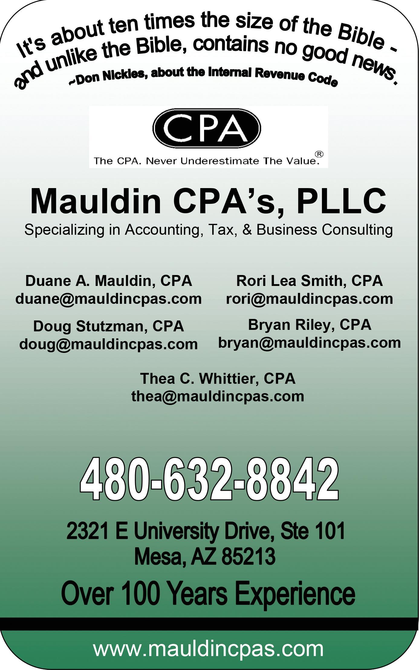 Mauldin CPA's, PLLC