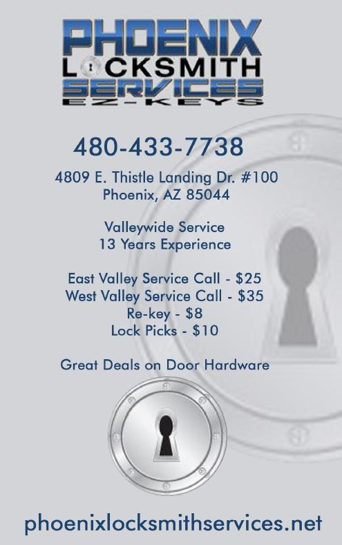 Phoenix Locksmith Services EZ-KEYS
