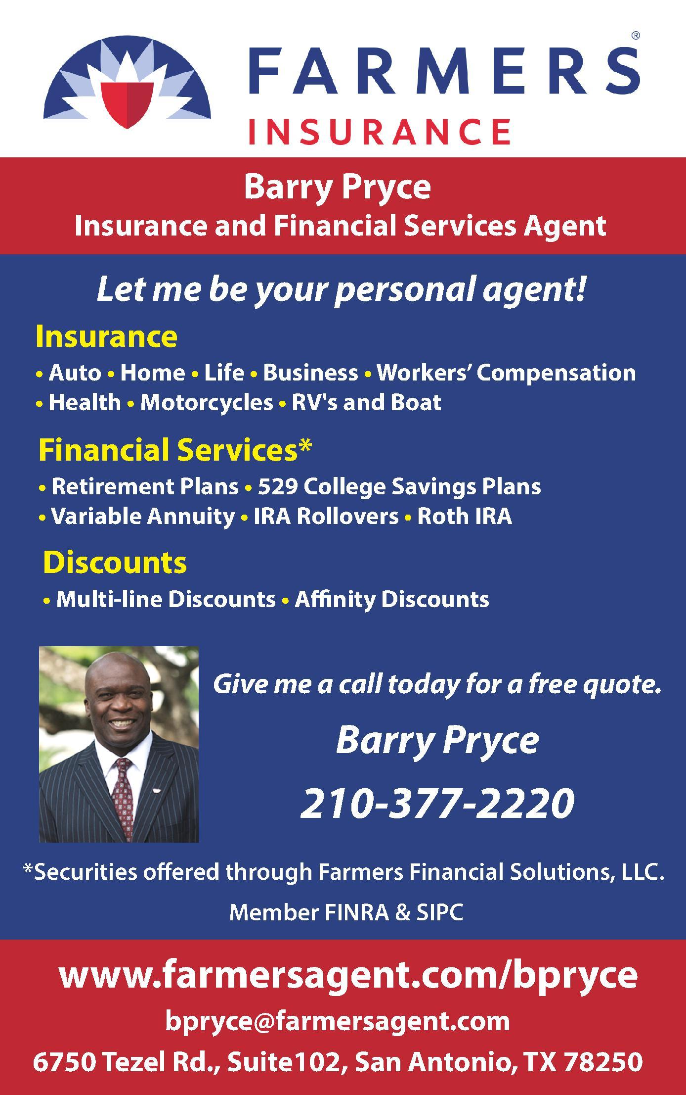 Farmers Insurance - Pryce