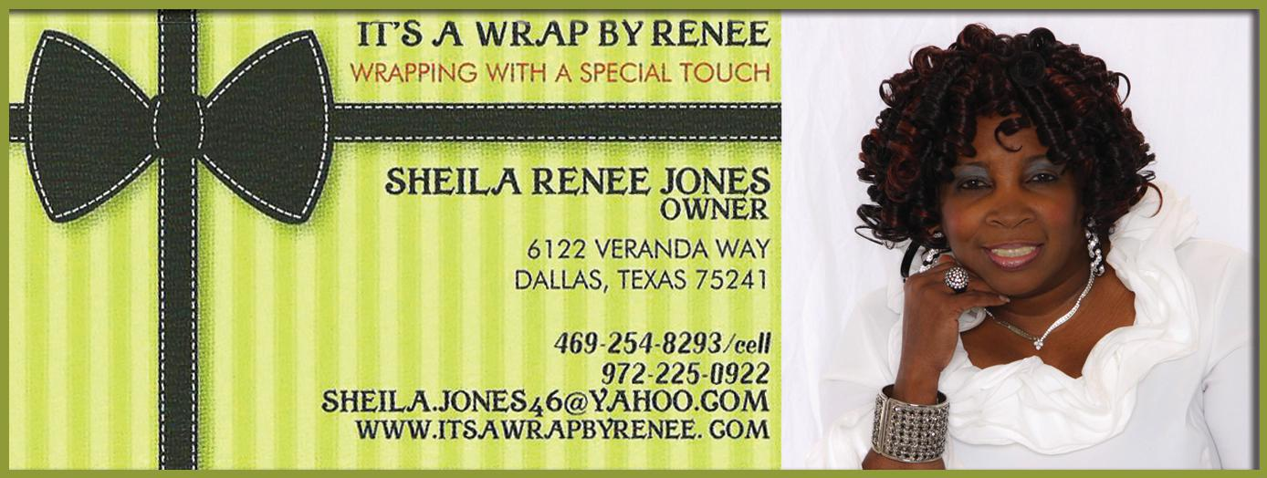 It's A Wrap By Renee
