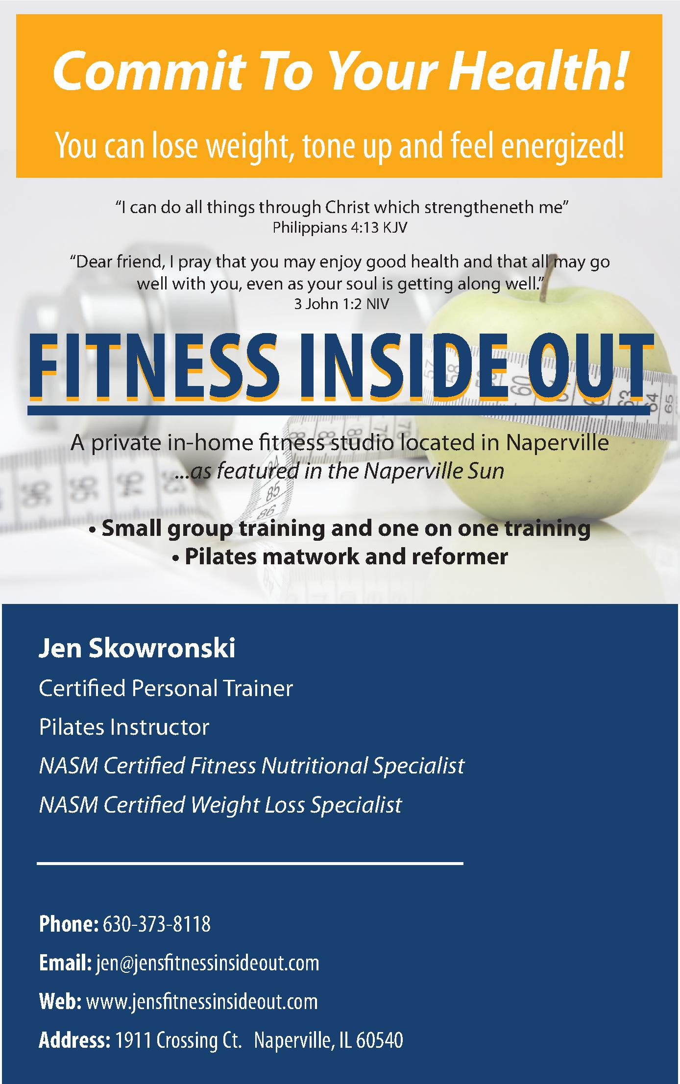 Fitness Inside Out Inc.