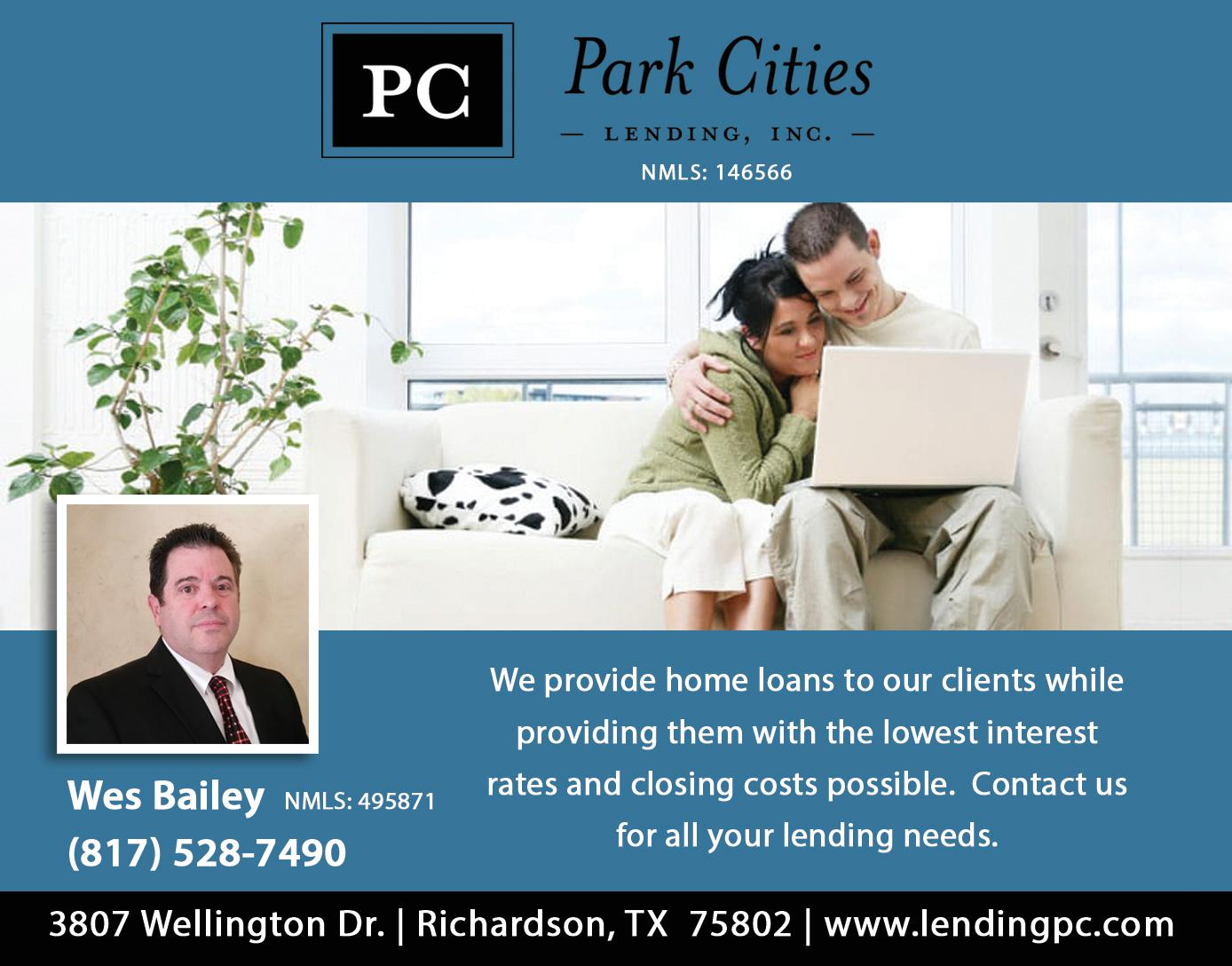 Park Cities Lending, INC. NMLS: 146566