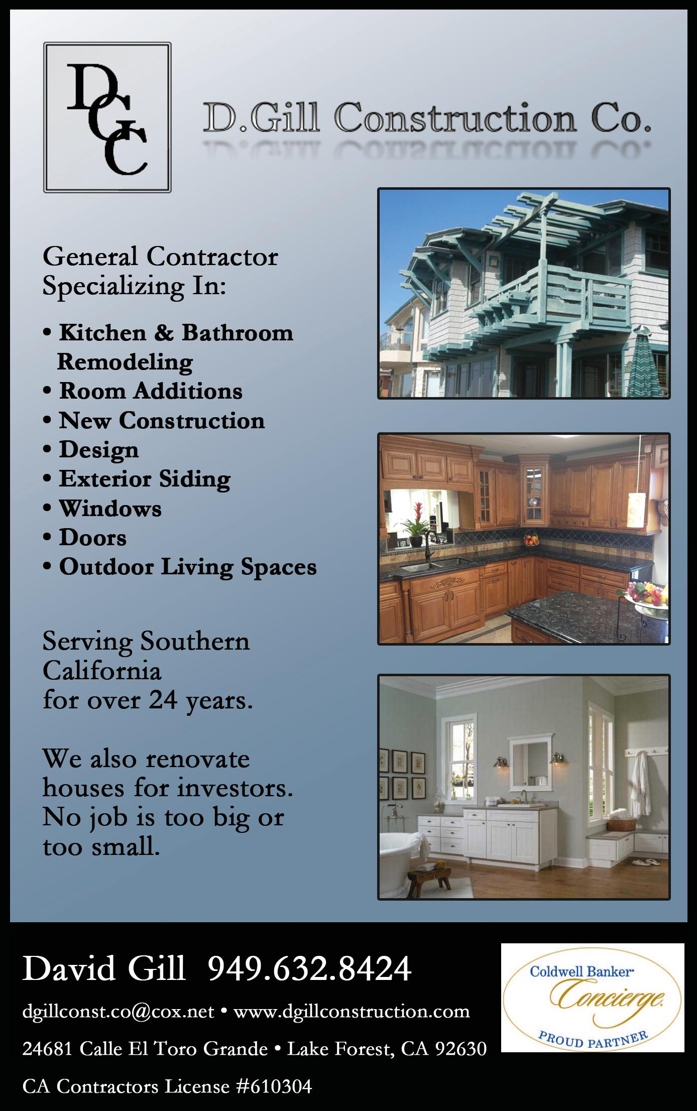 D. Gill Construction Co.