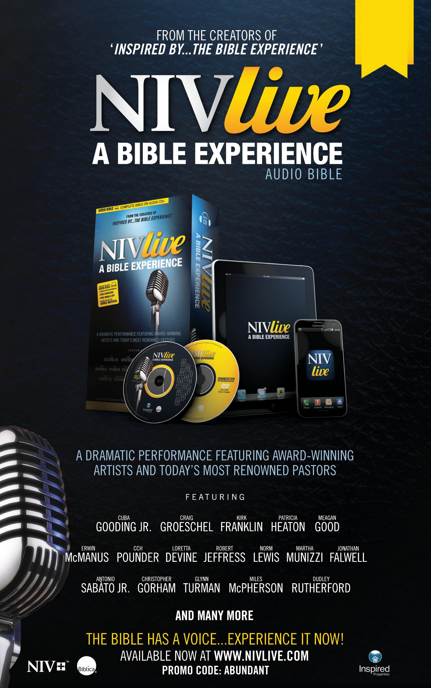 Inspired Properties - NIV Live A Bible Experience