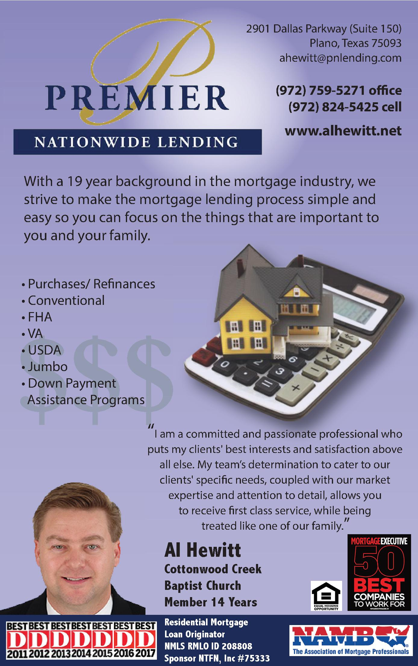 Premier Nationwide Lending
