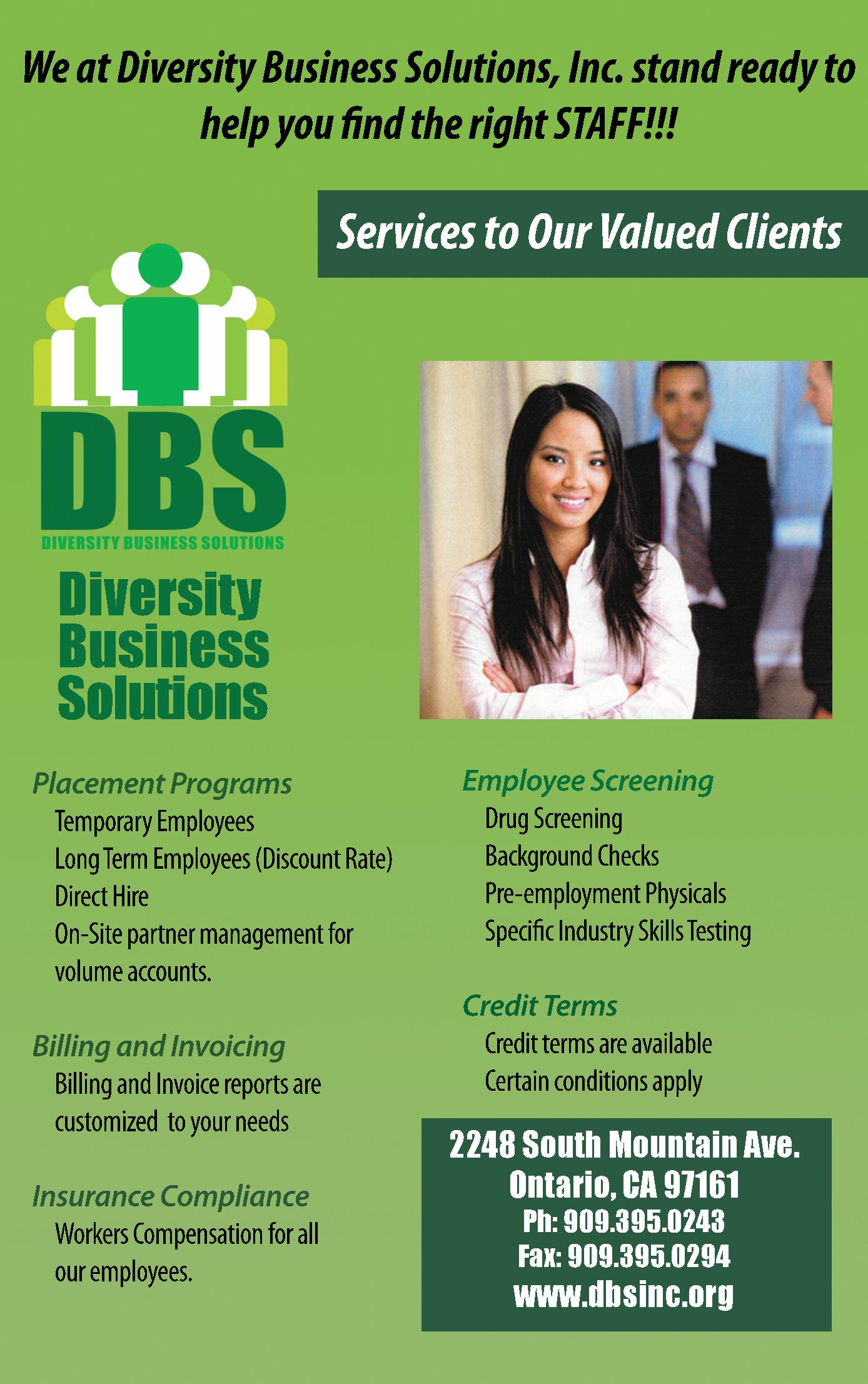Diversity Business Solutions, Inc