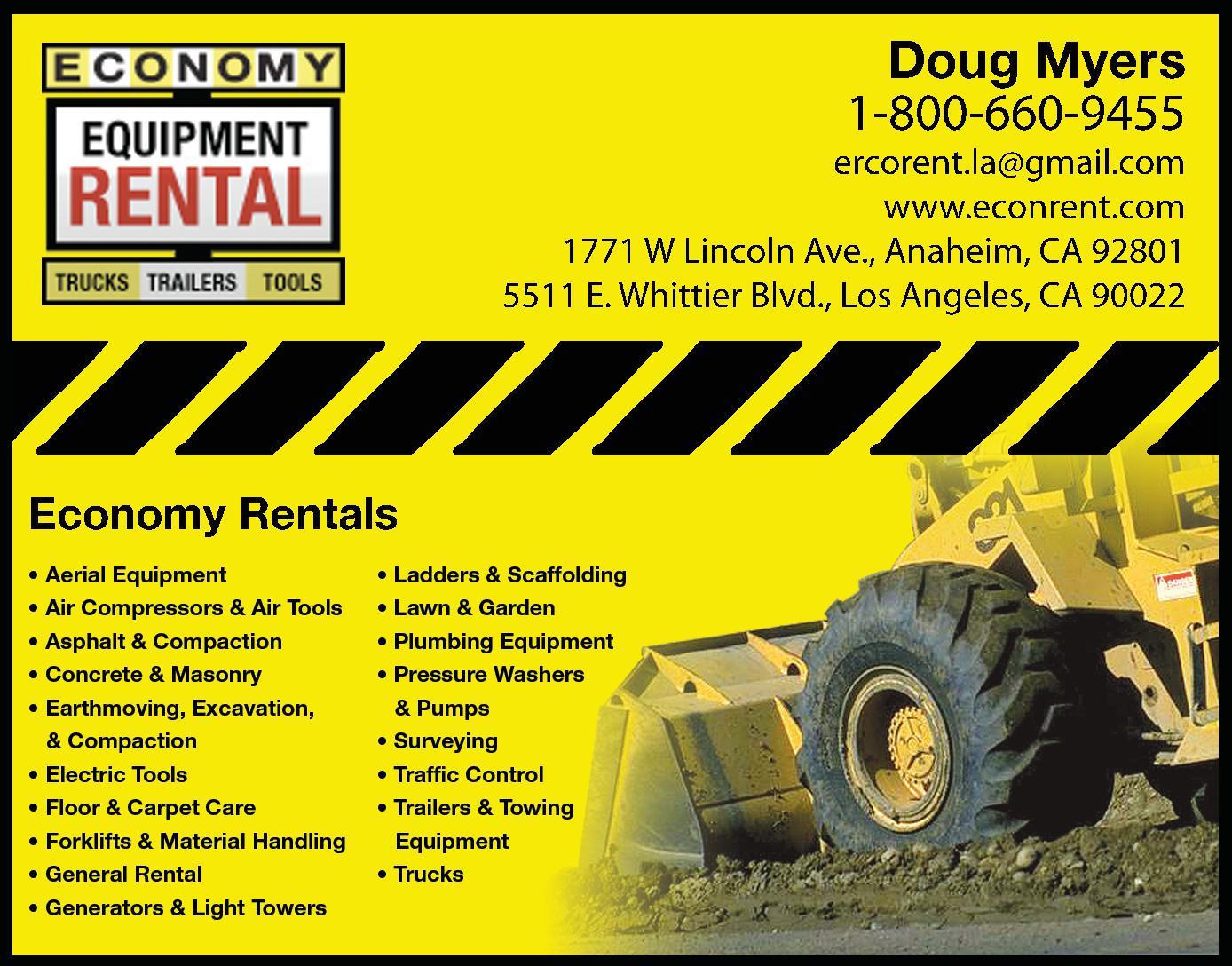 Economy Rentals, Inc