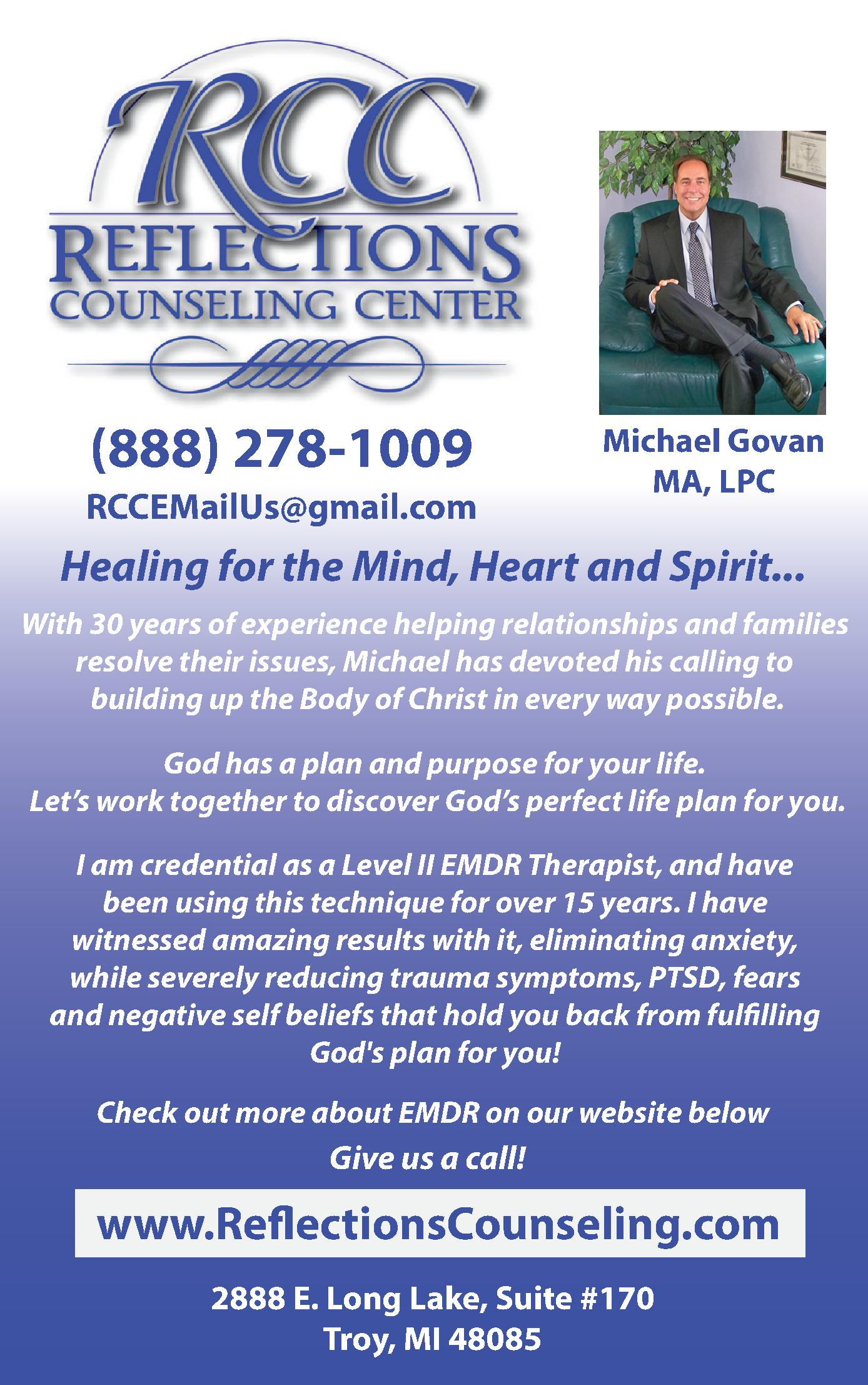 Reflections Counseling Center