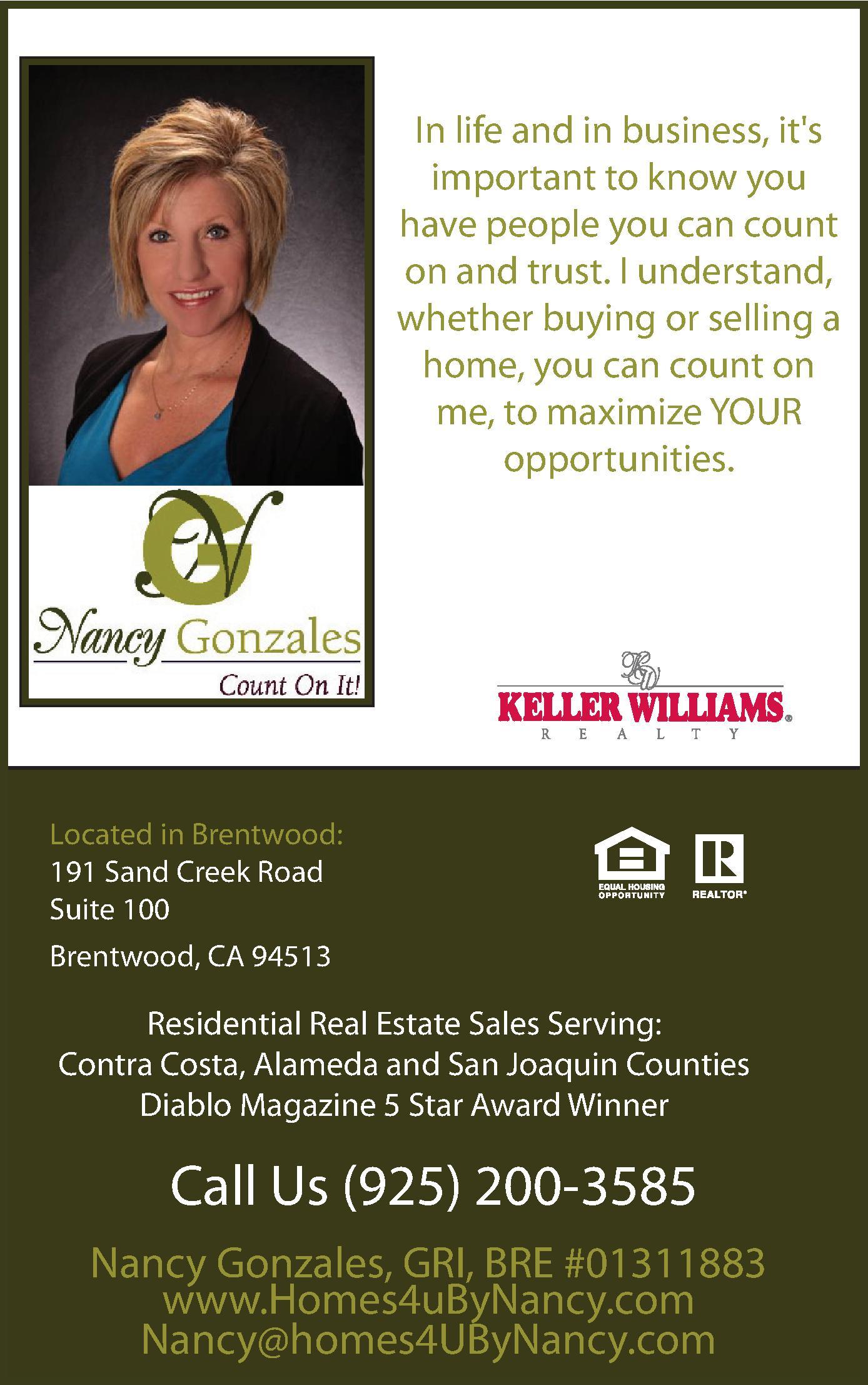 Keller Williams Realty East County - BRE #01311883