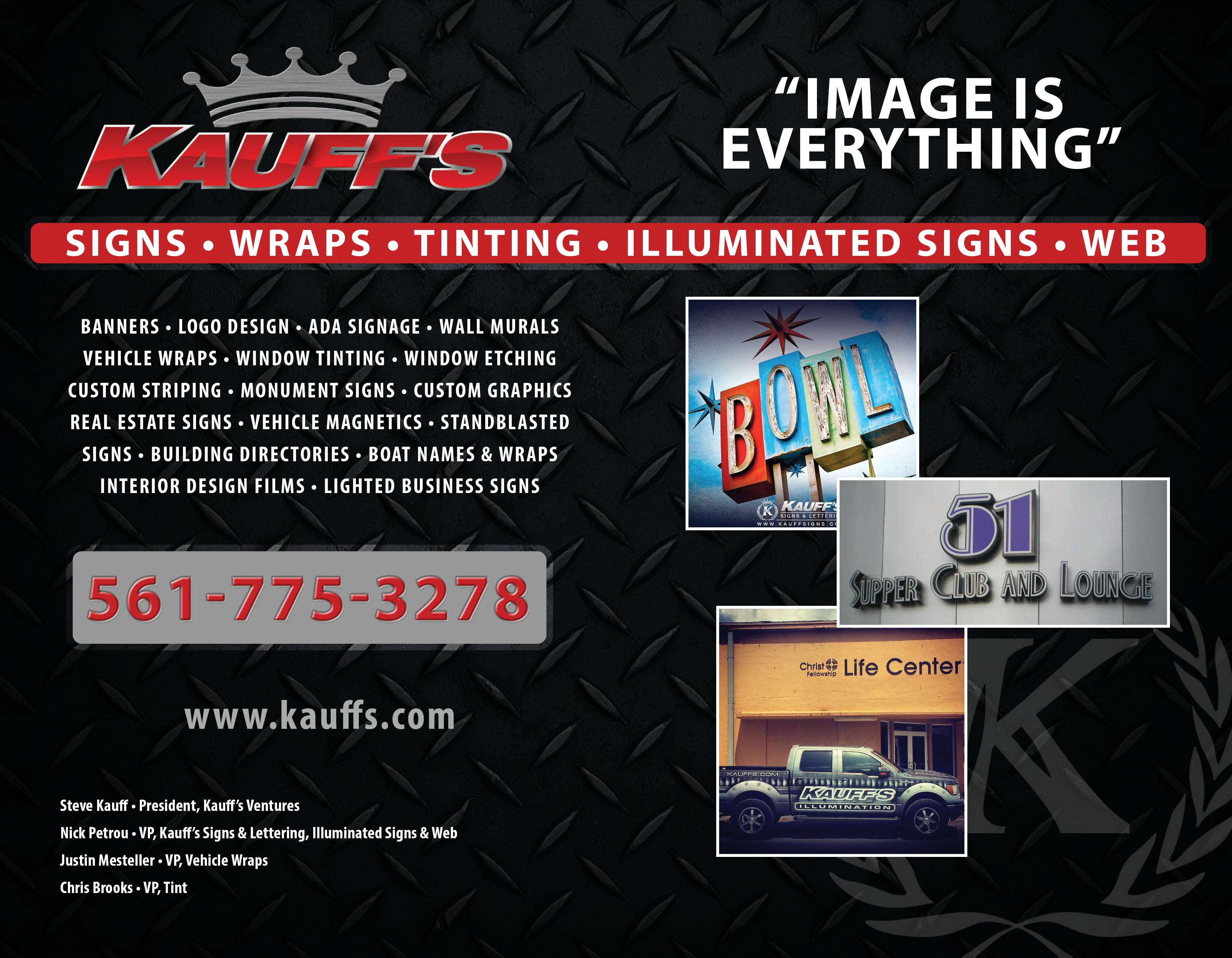 Kauff's Signs, Wraps, Tint & Web Design