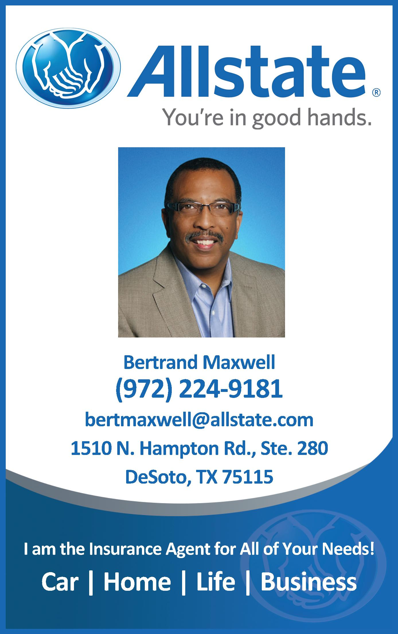 Allstate Insurance  - Maxwell